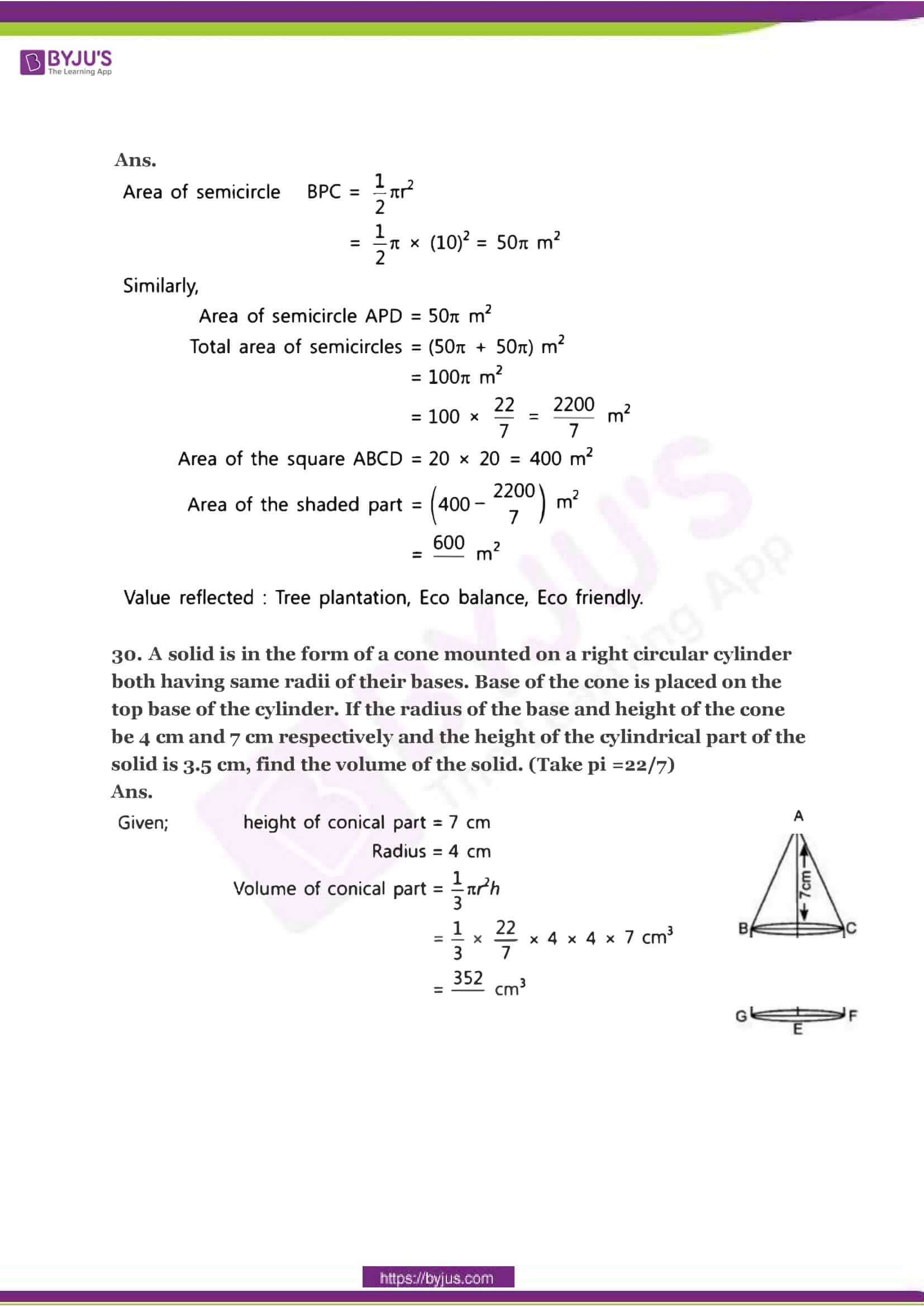 CBSE Class 10 Maths Sample Paper Solution Set 2-14