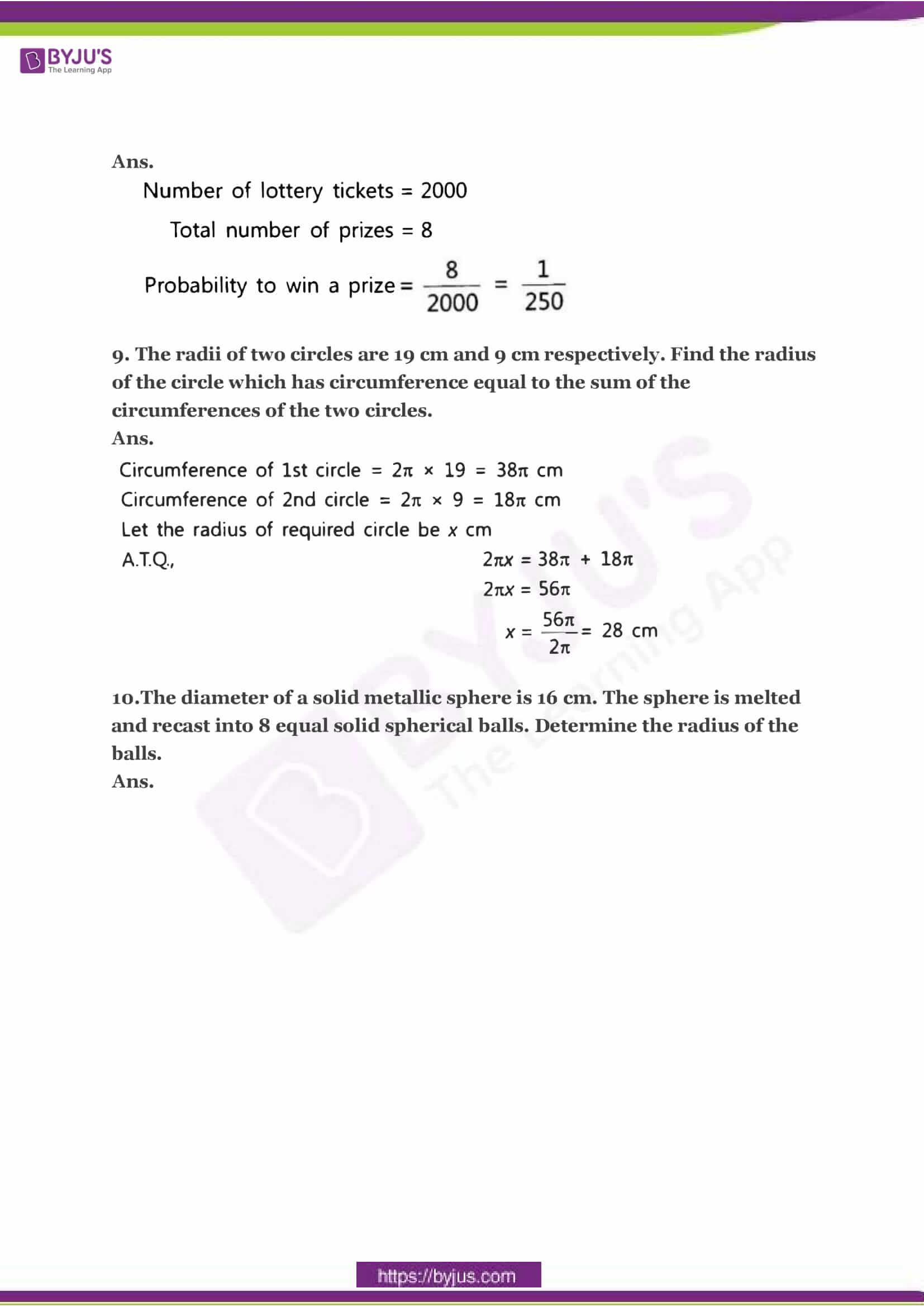 CBSE Class 10 Maths Sample Paper Solution Set 3-04