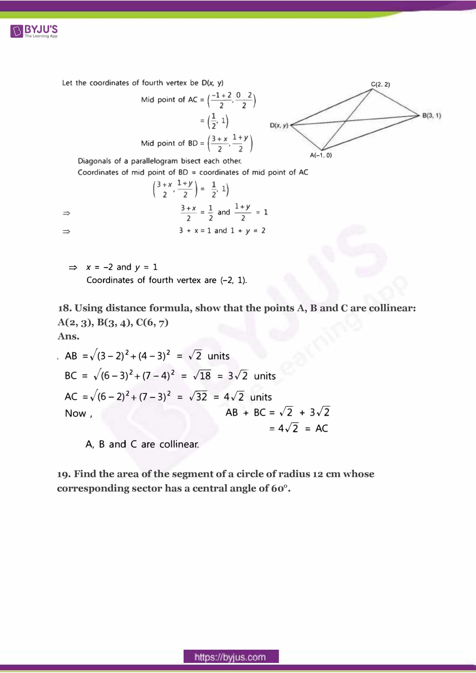 CBSE Class 10 Maths Sample Paper Solution Set 3-08