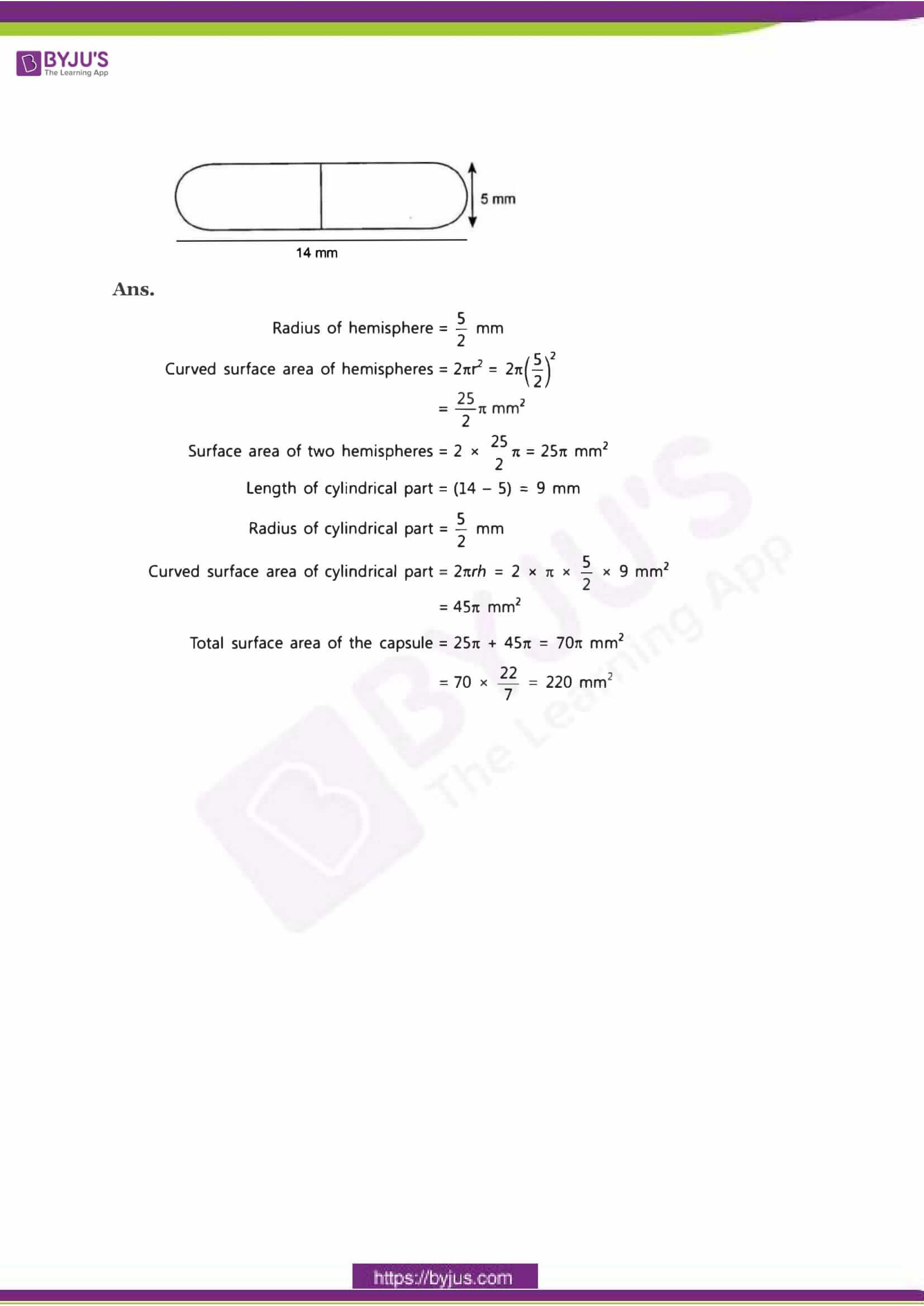 CBSE Class 10 Maths Sample Paper Solution Set 3-16