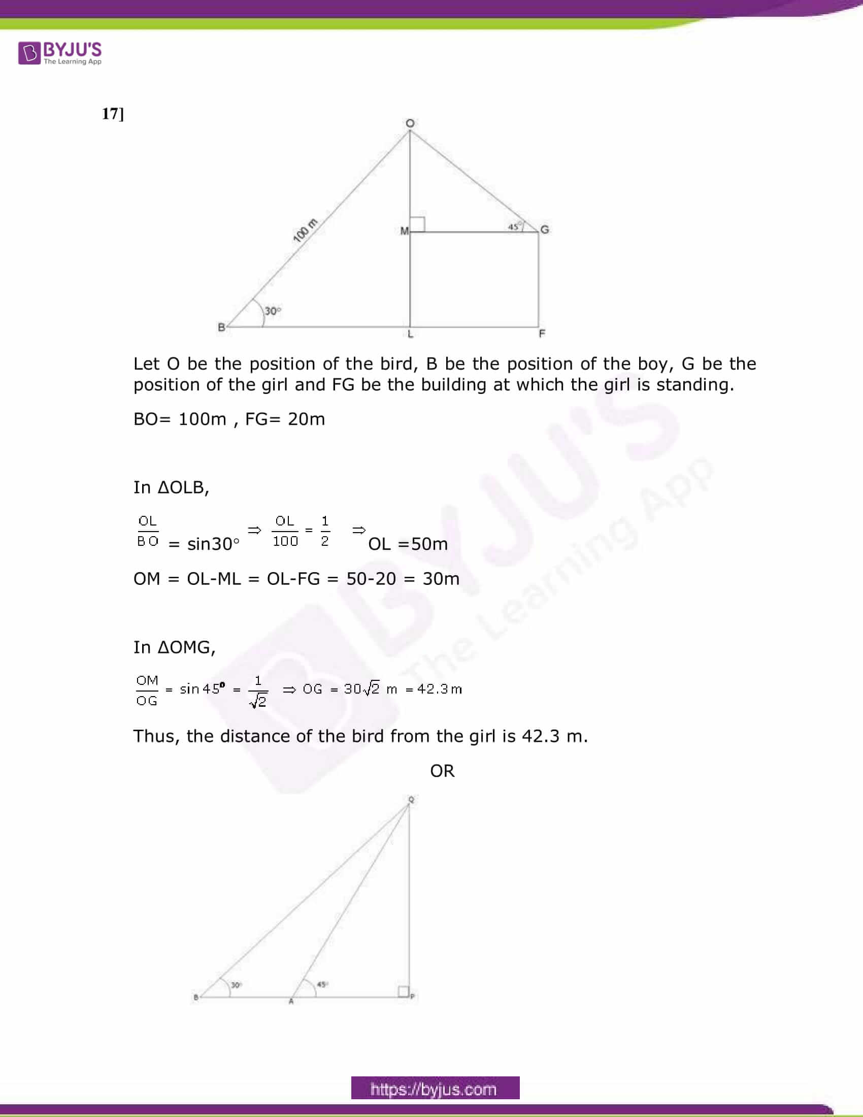 CBSE Class 10 Maths Sample Paper Solution Set 4-07
