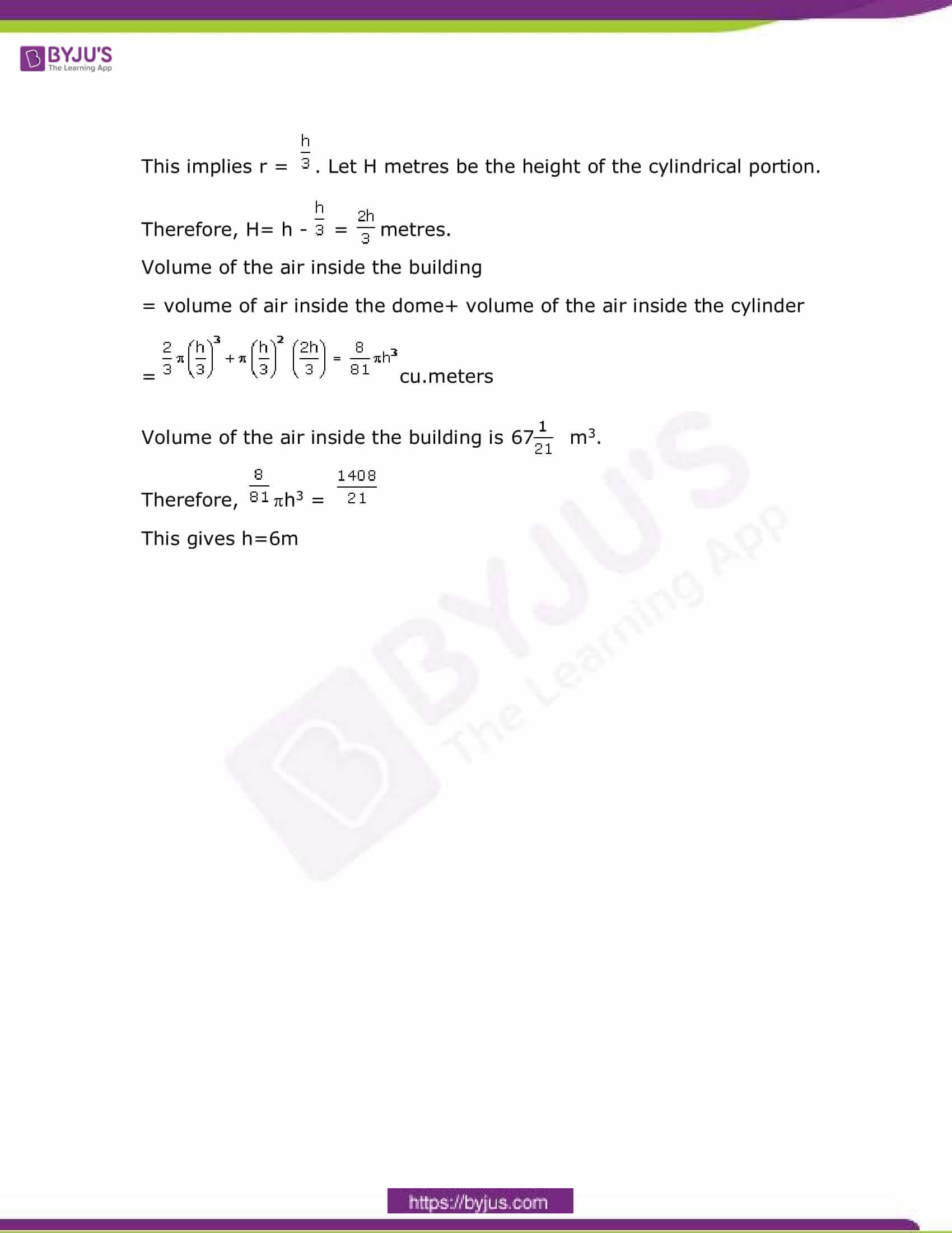 CBSE Class 10 Maths Sample Paper Solution Set 4-18