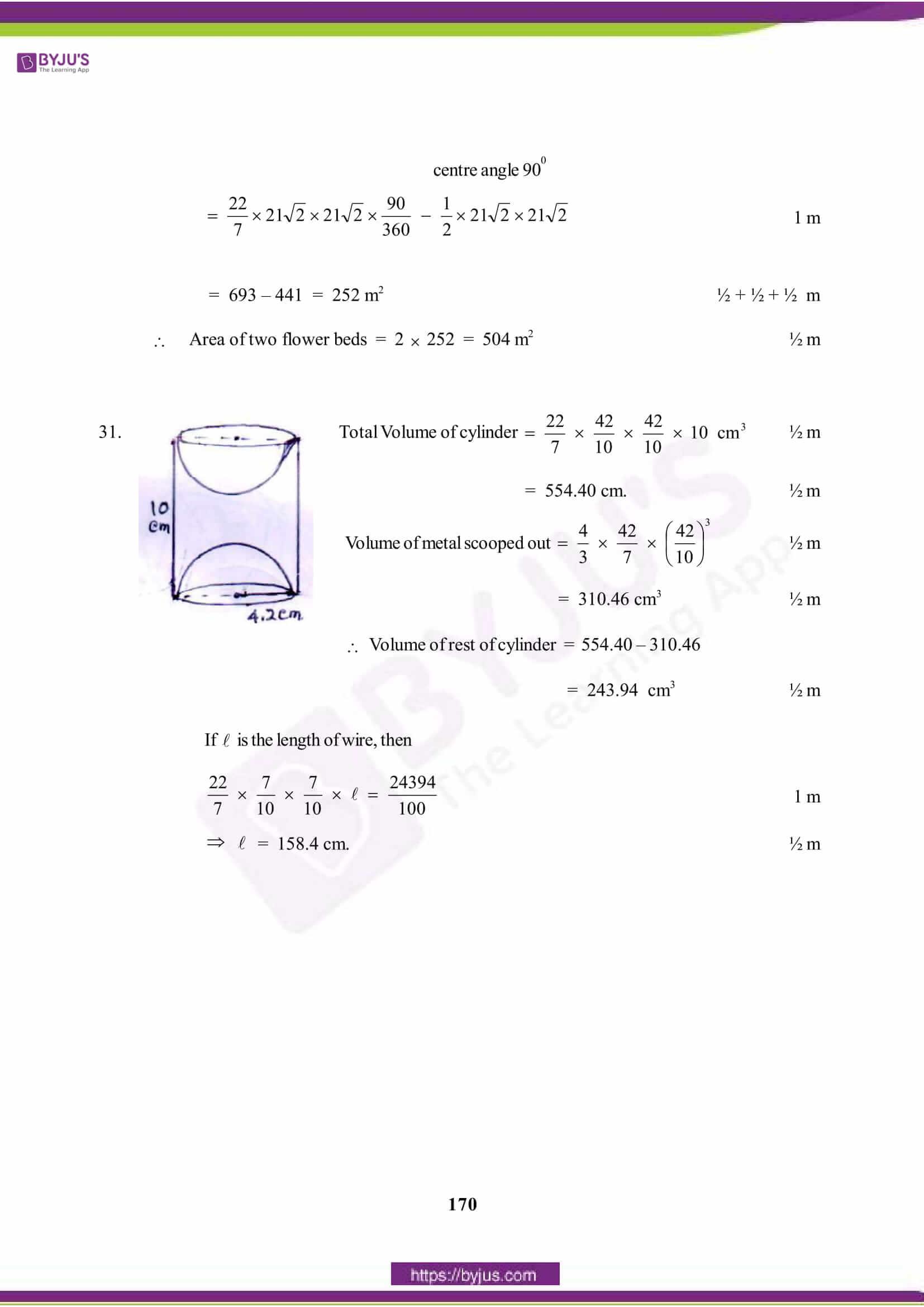 CBSE Class 10 Maths Solution PDF 2015 Set 1 9