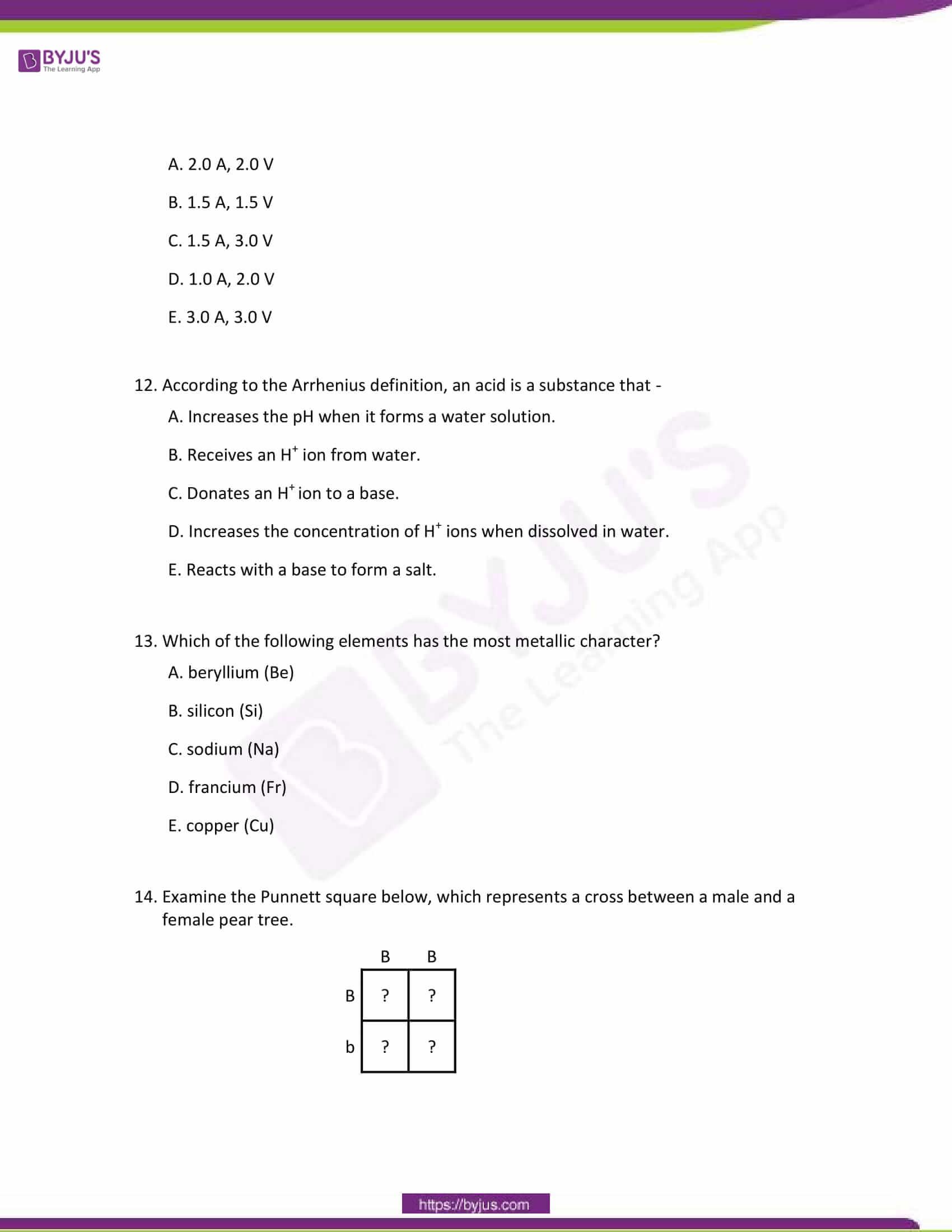 CBSE Class 10 Science Sample Paper Set 7-4