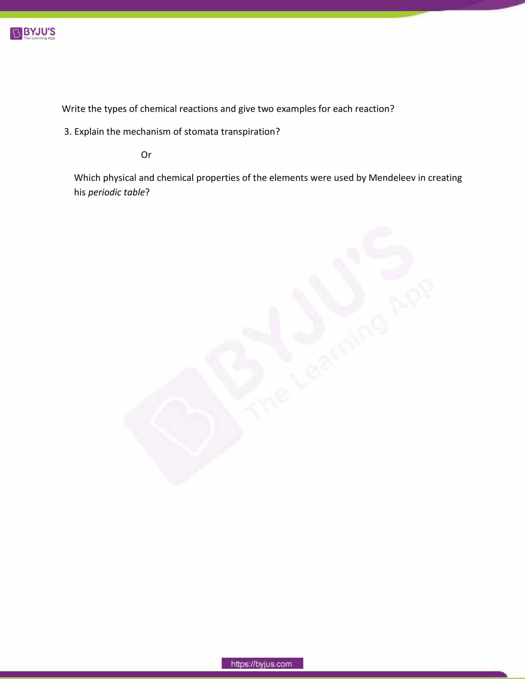 CBSE Class 10 Science Sample Paper Set 7-7