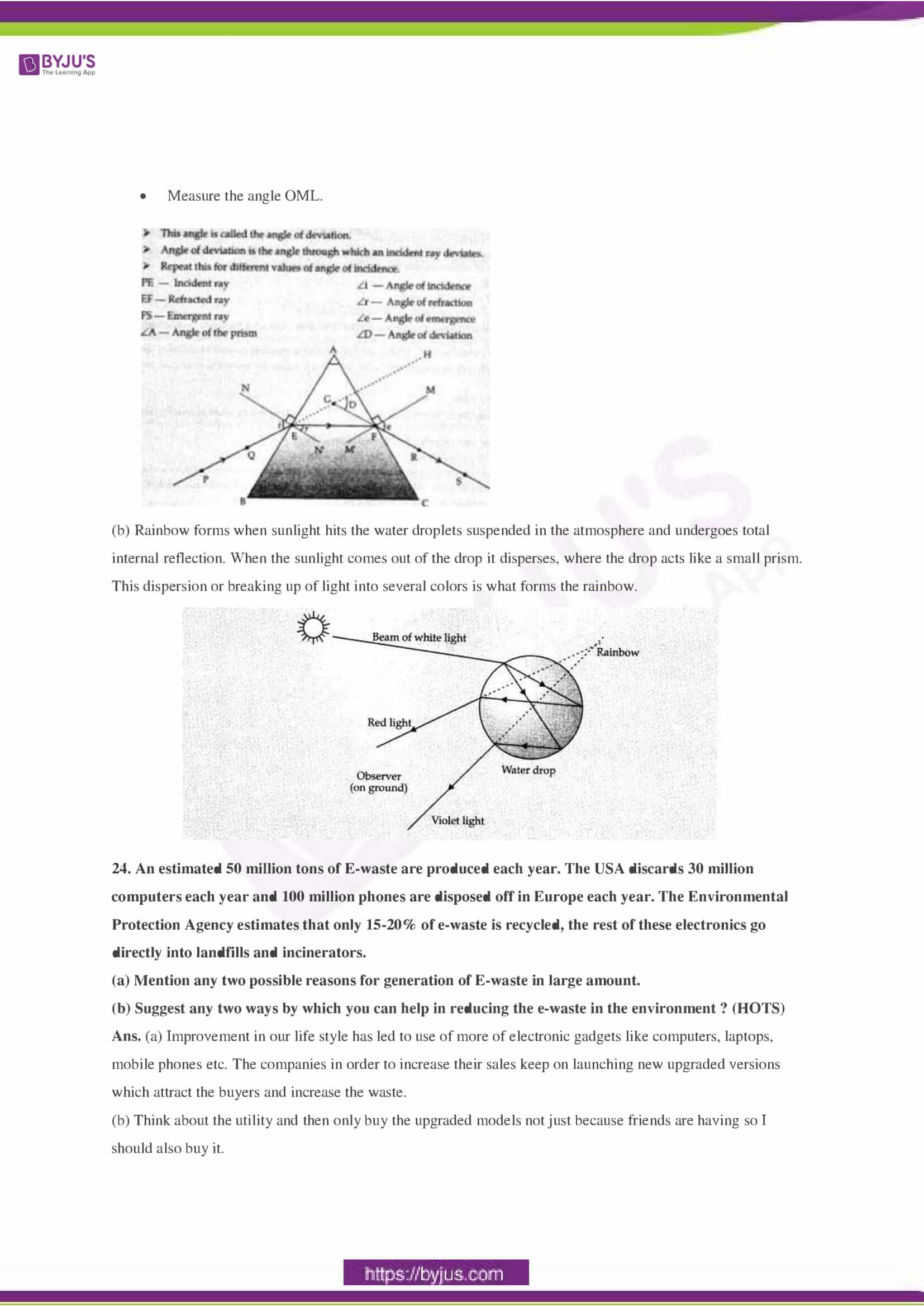 CBSE Class 10 Science Sample Paper Solution Set 2-09