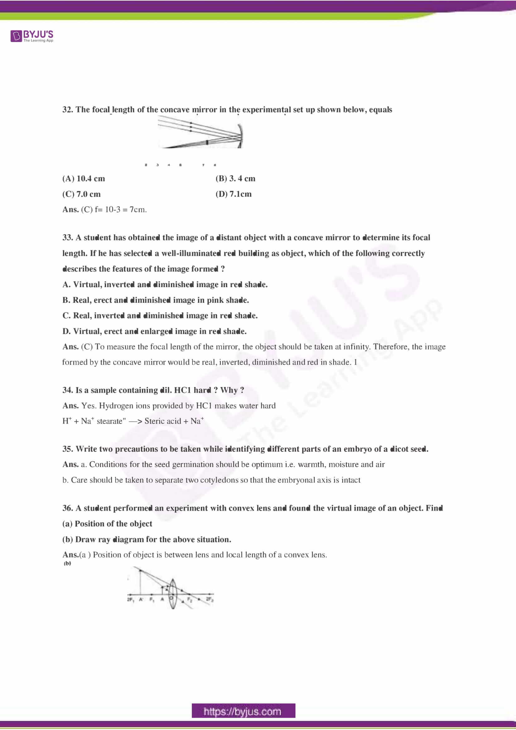 CBSE Class 10 Science Sample Paper Solution Set 2-12