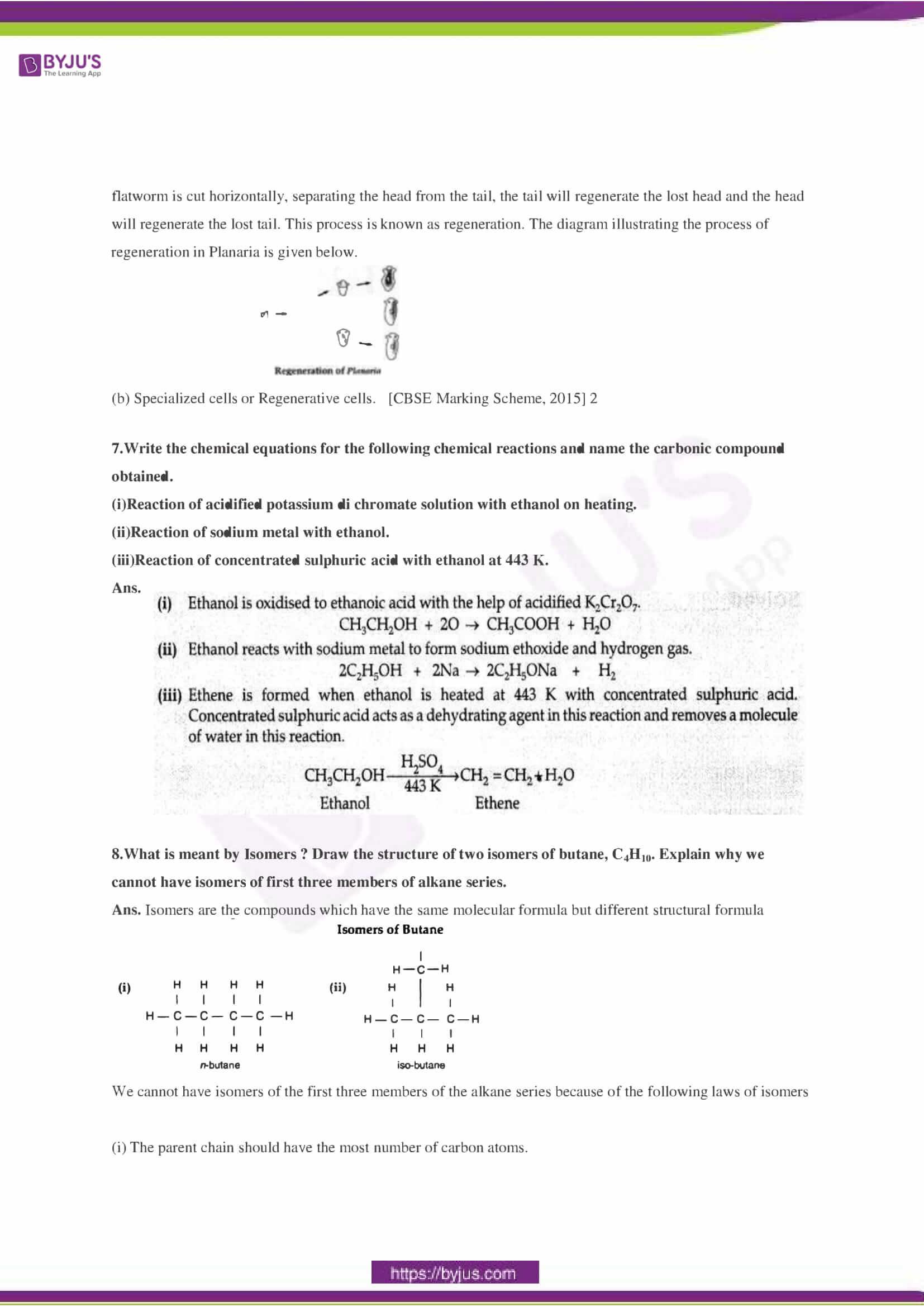CBSE Class 10 Science Sample Paper Solution Set 3-02