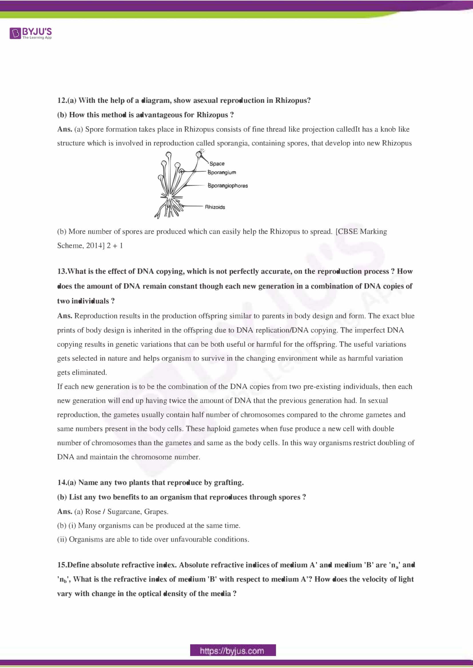 CBSE Class 10 Science Sample Paper Solution Set 3-04