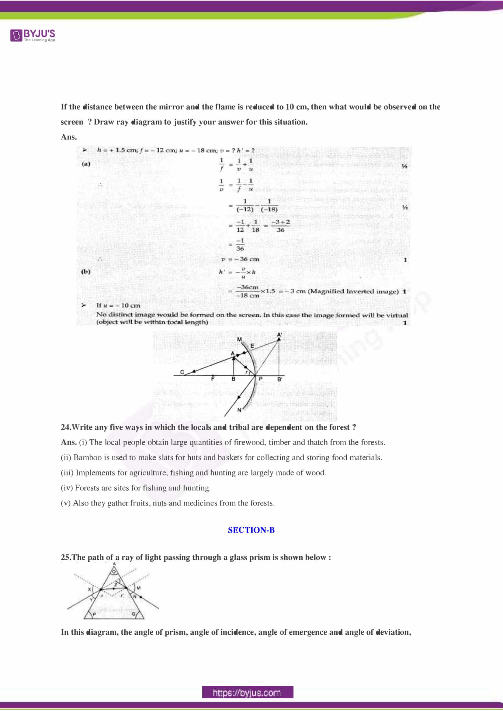CBSE Class 10 Science Sample Paper Solution Set 3-08