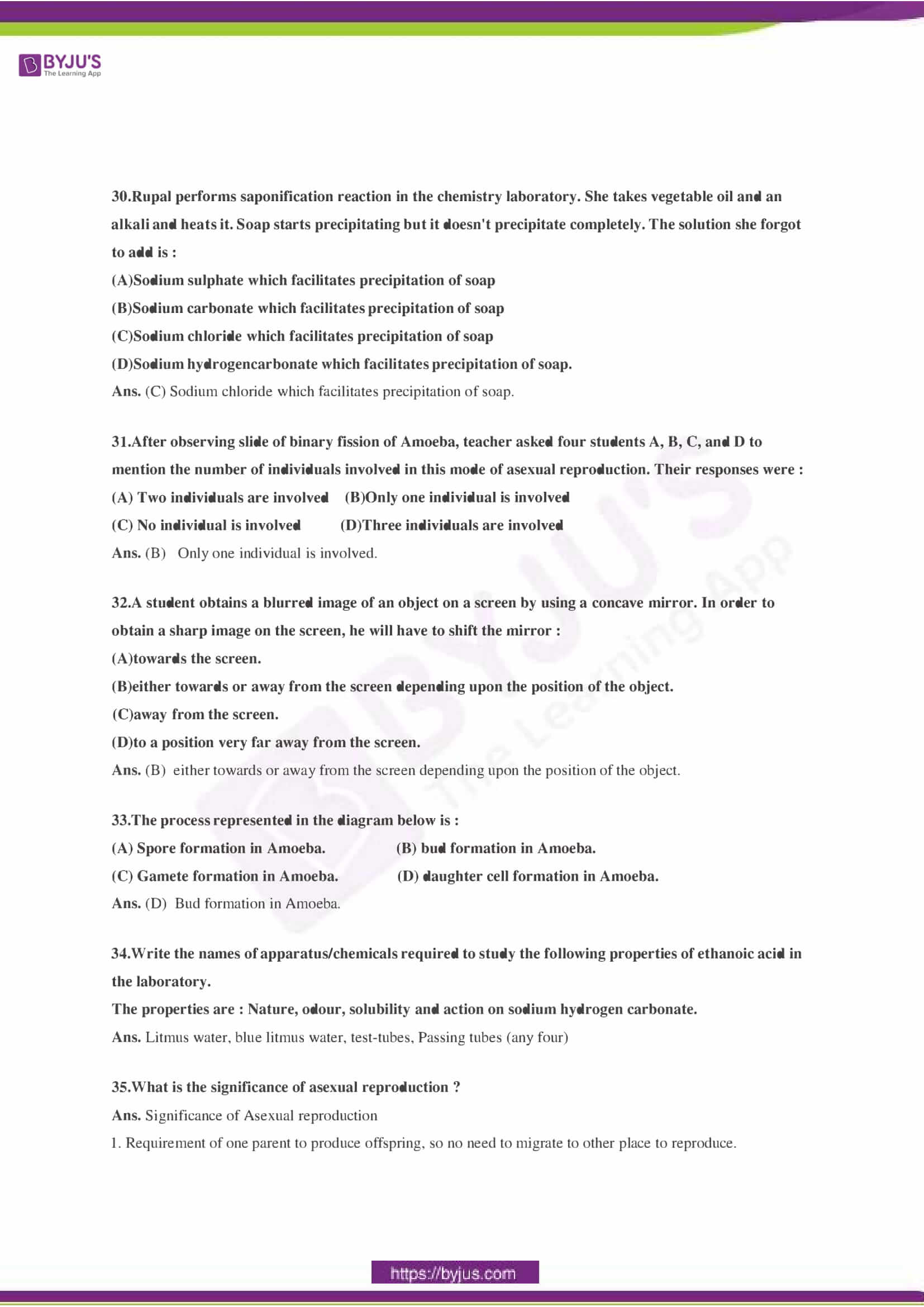CBSE Class 10 Science Sample Paper Solution Set 3-10