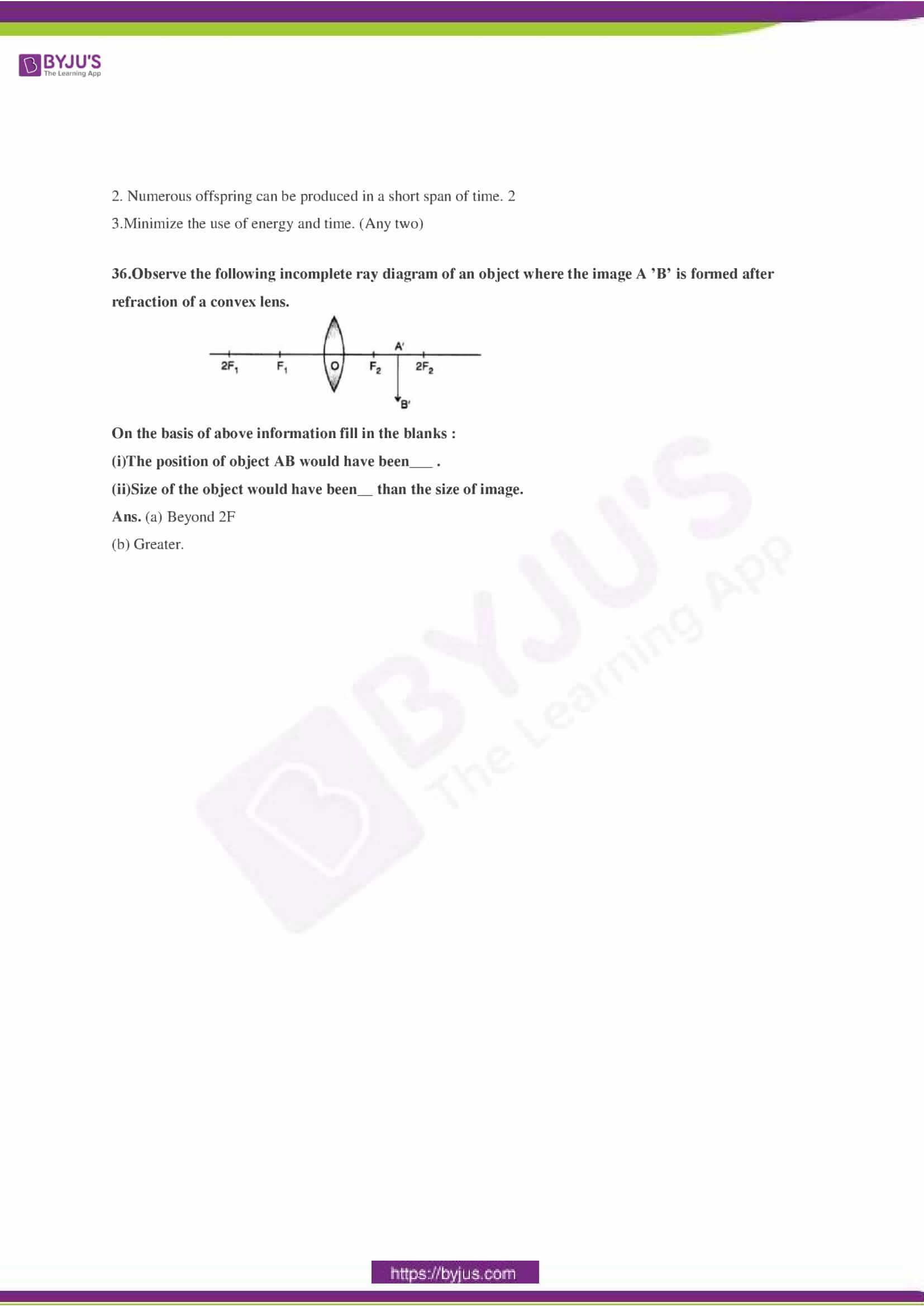 CBSE Class 10 Science Sample Paper Solution Set 3-11