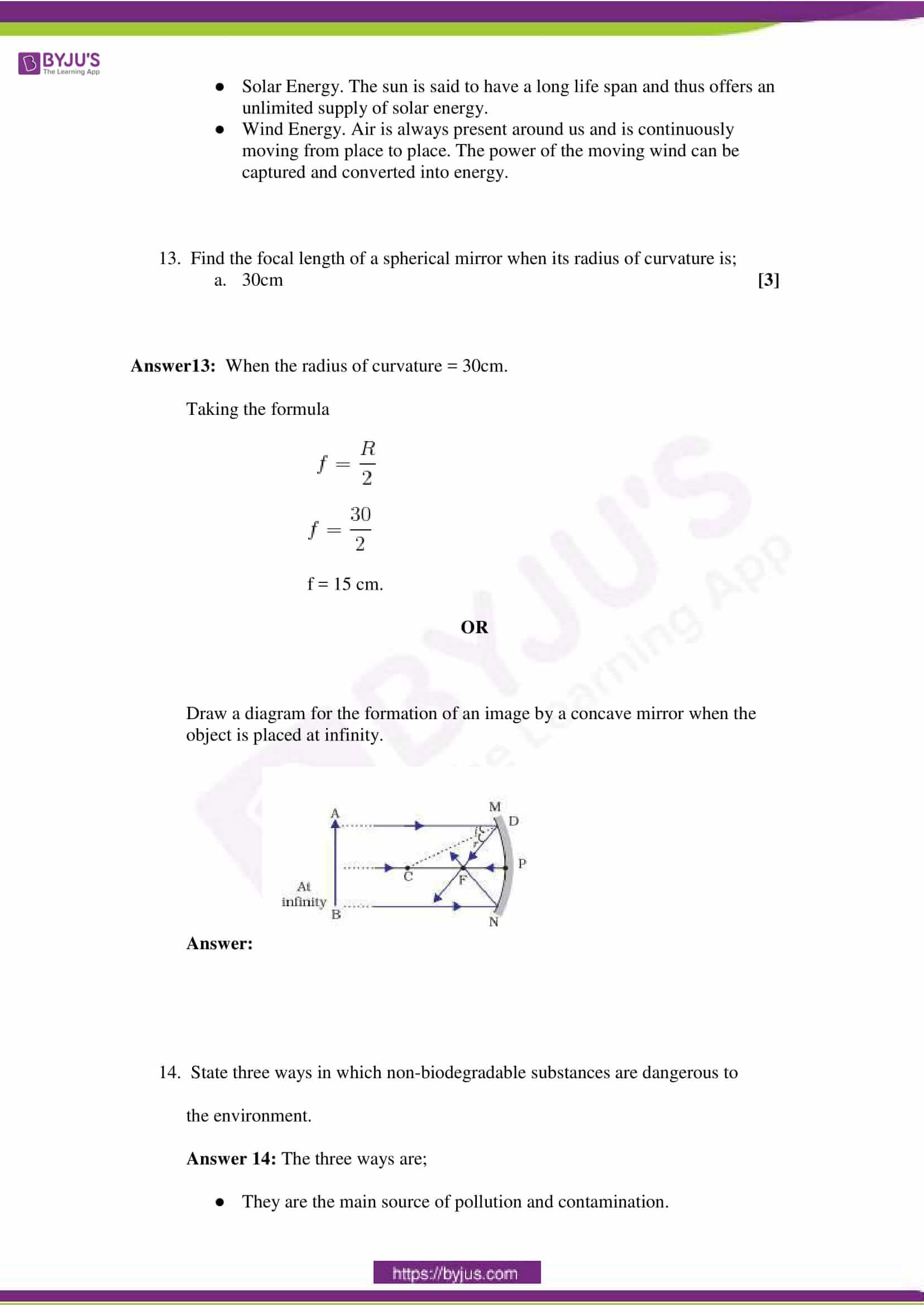 CBSE Class 10 Science Sample Paper Solution Set 4-4