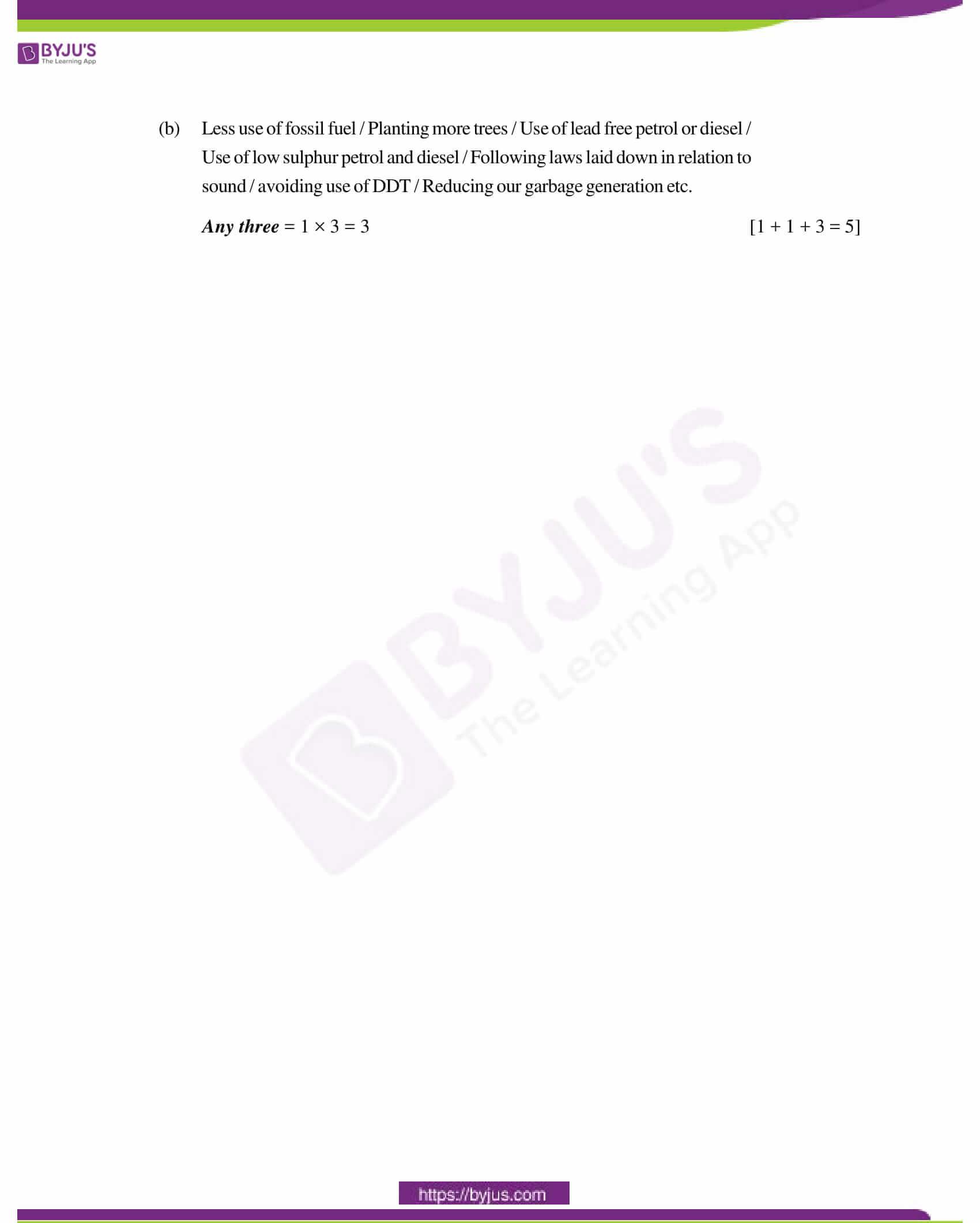 cbse class 12 biology solution 2011 set 1