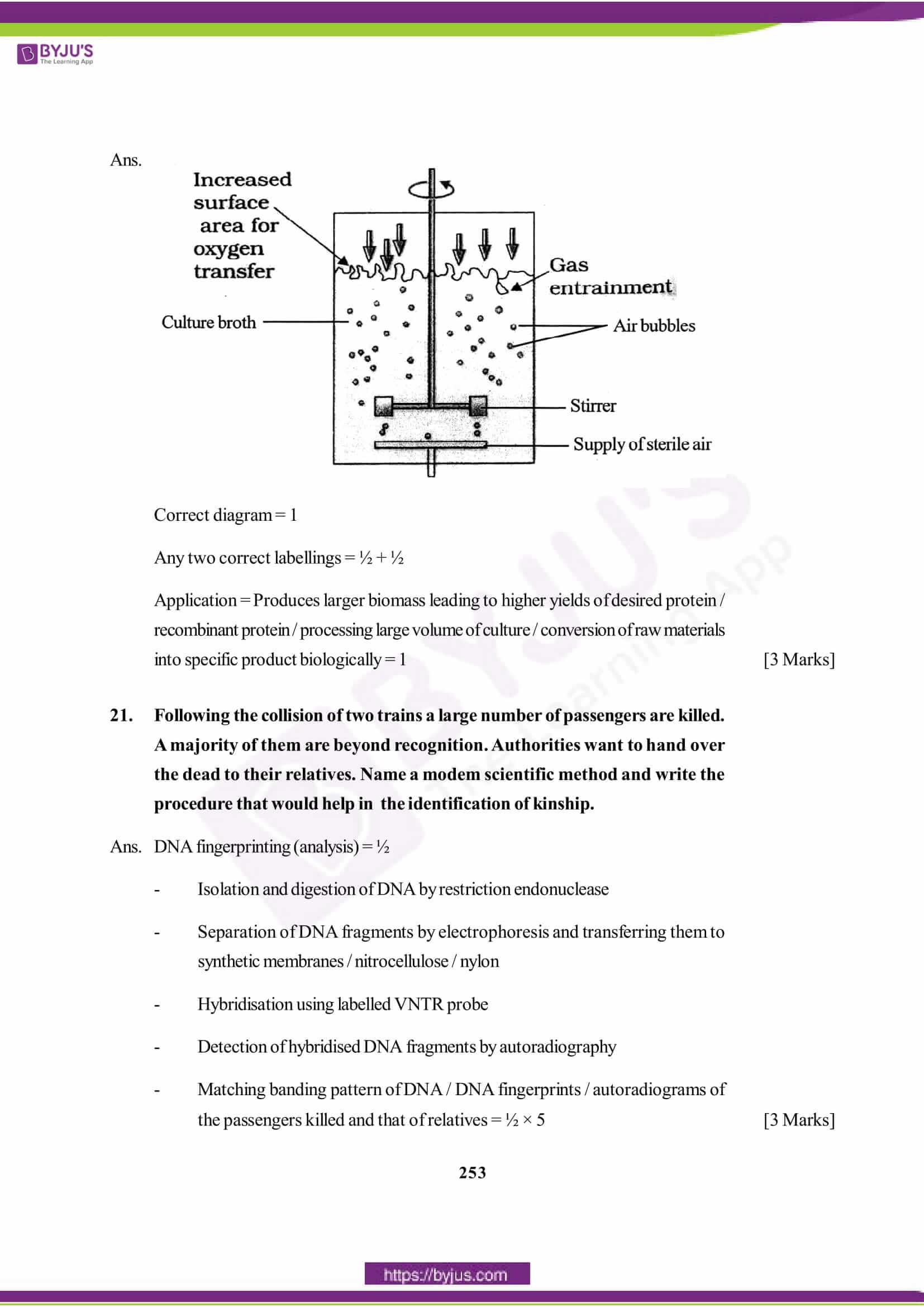 cbse class 12 biology solution 2015 set 1