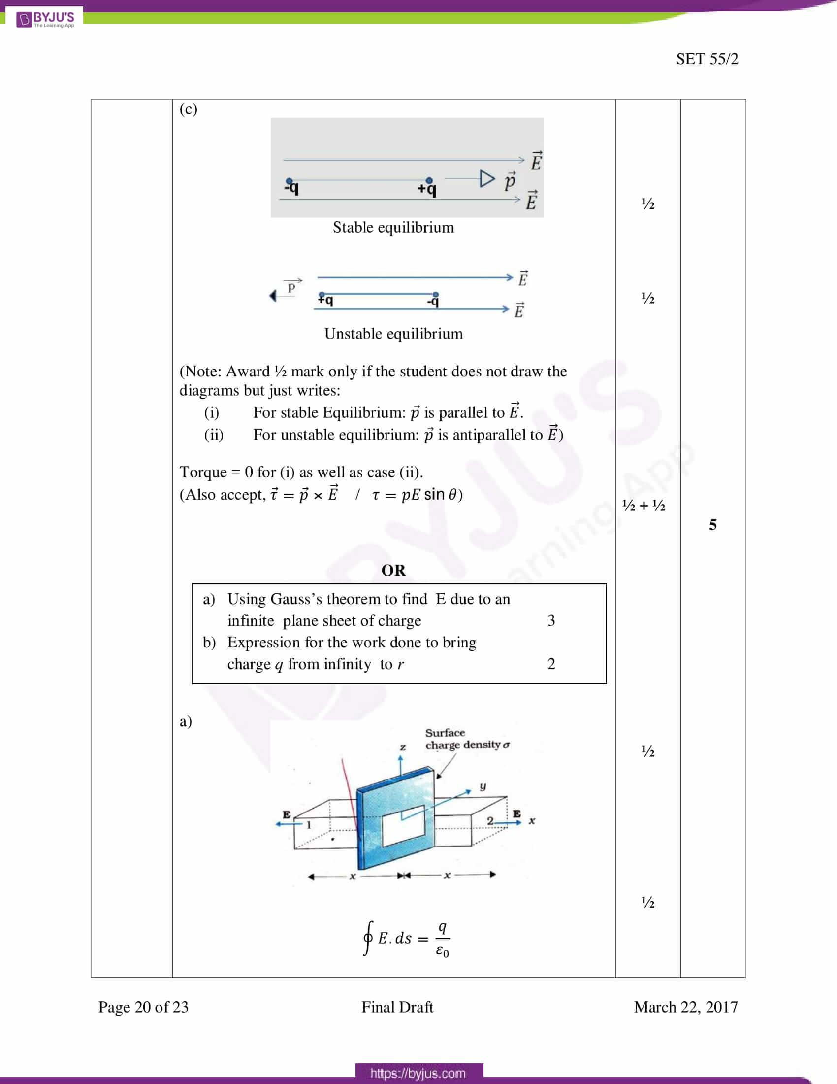 cbse class 12 phy 2017 solution set 1