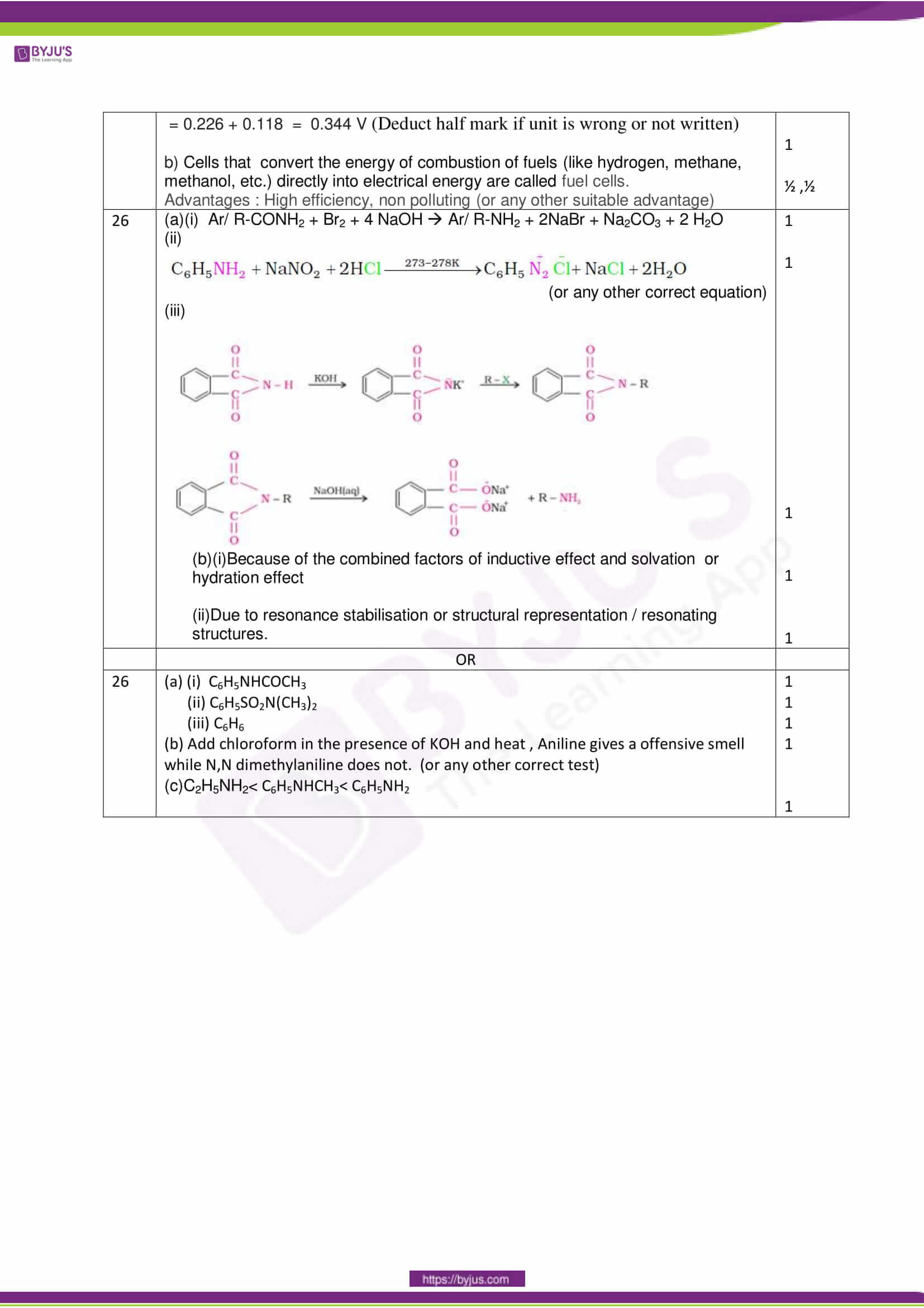 cbse class 12 solution 2018 chemistry set 1