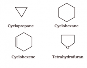What are cyclic hydrocarbons