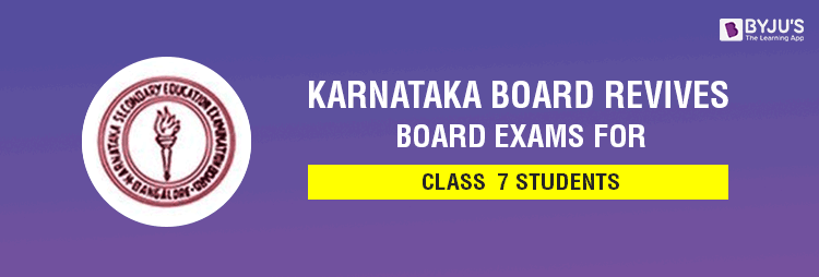 Karnataka Board Revives Board Exams for Class 7 Students