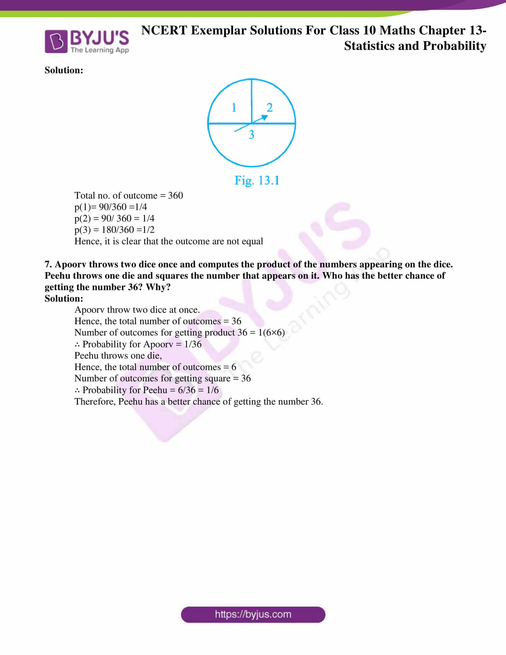 Ncert Exemplar solution class 10 maths 13