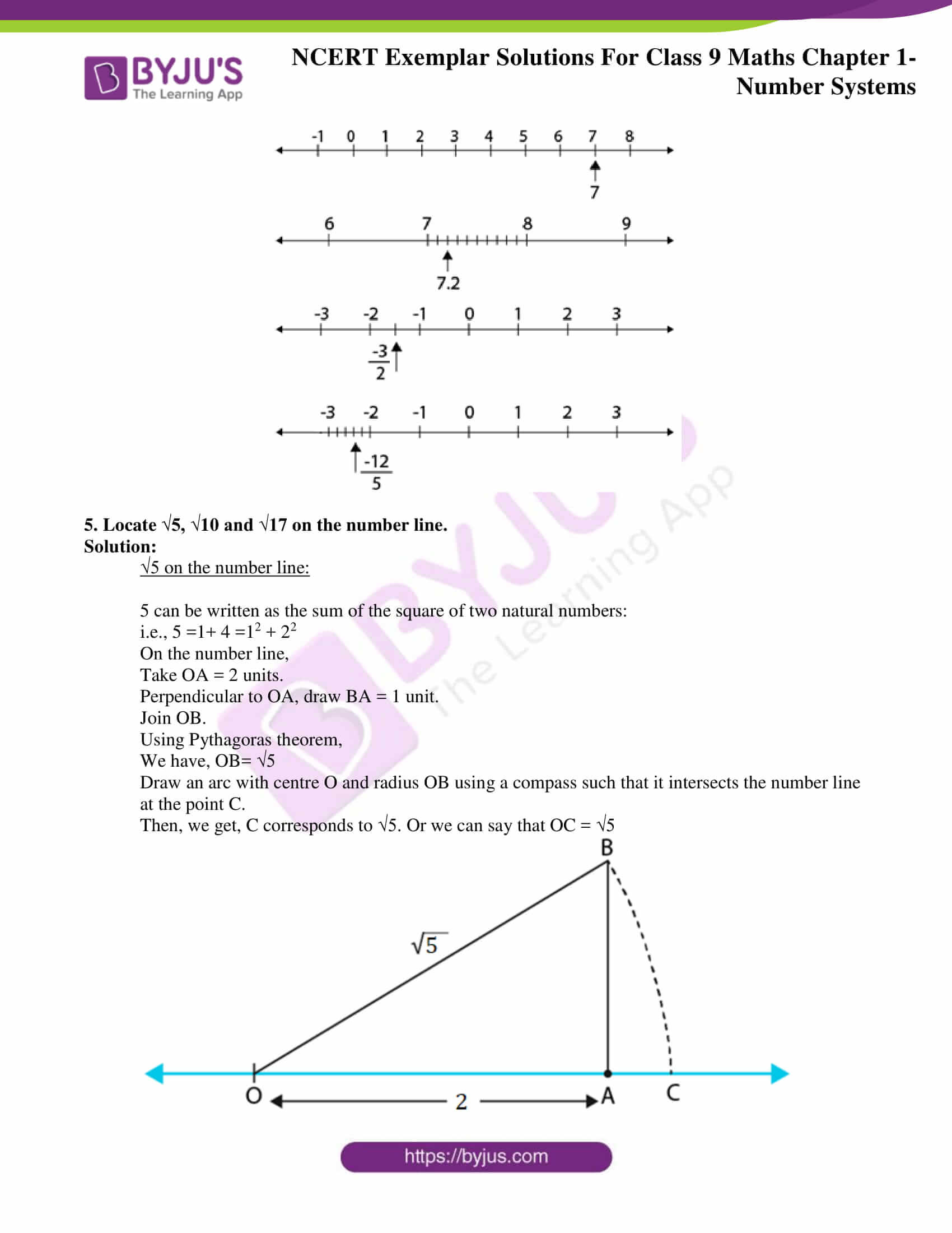 NCERT Exemplar Solutions for Class 9 Maths Chapter 1 09