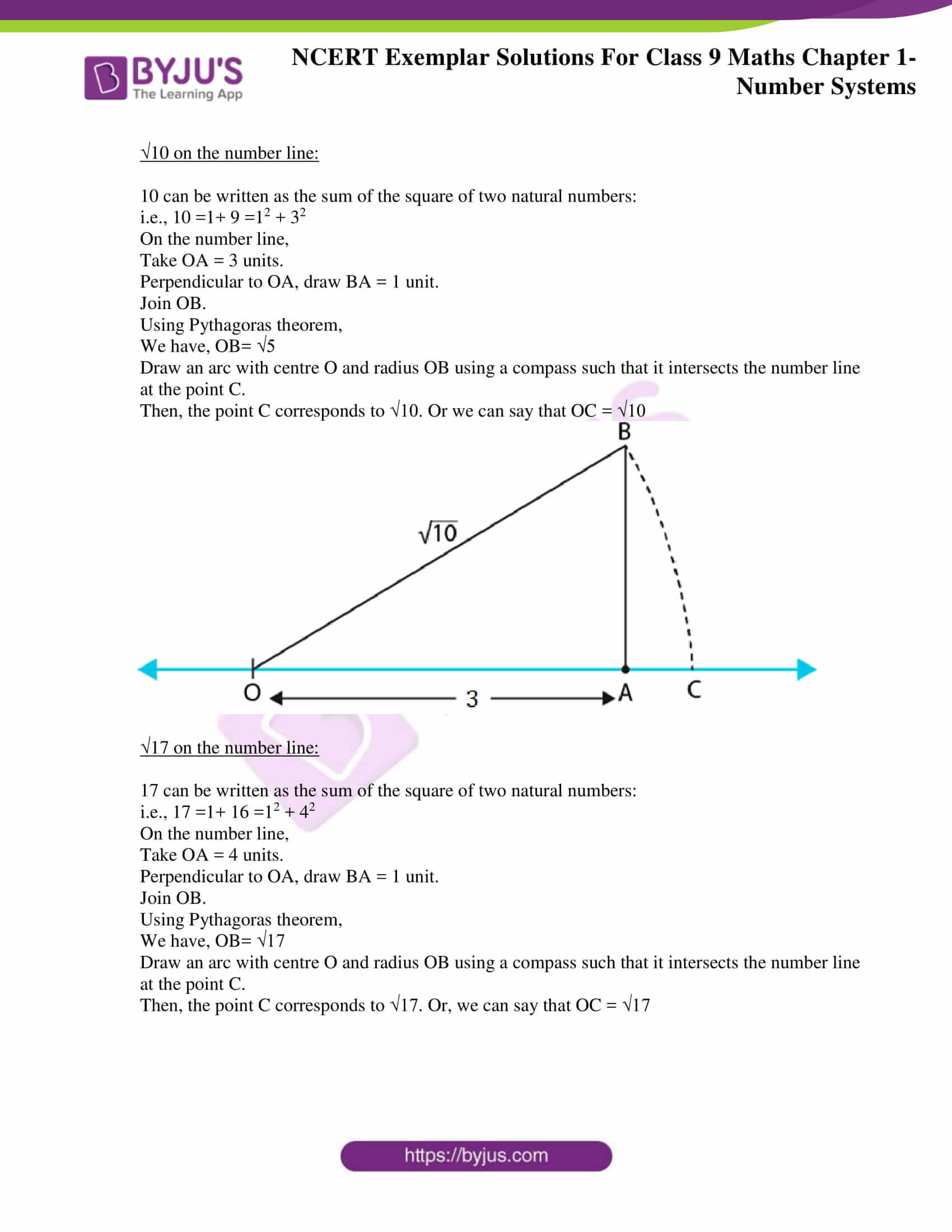 NCERT Exemplar Solutions for Class 9 Maths Chapter 1 10