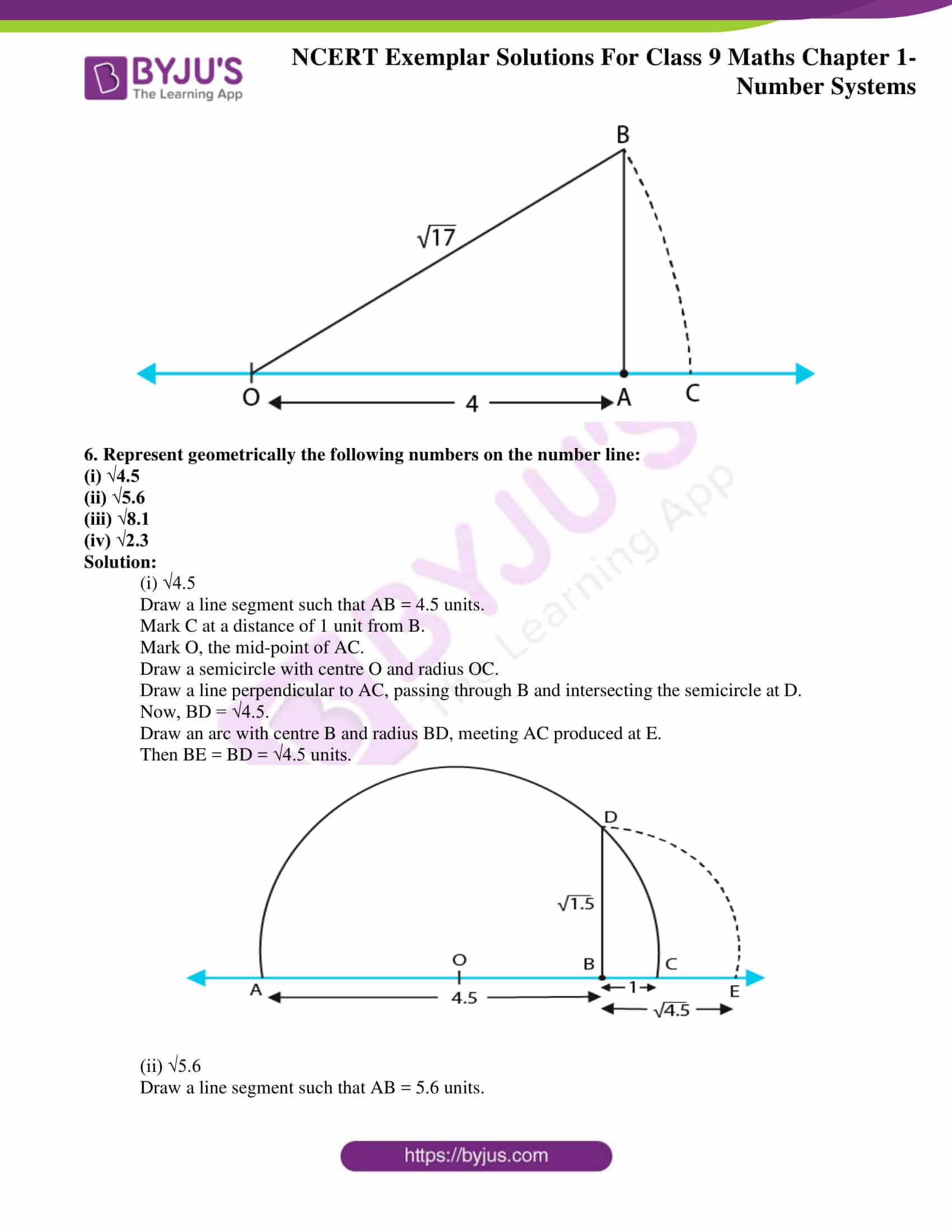 NCERT Exemplar Solutions for Class 9 Maths Chapter 1 11