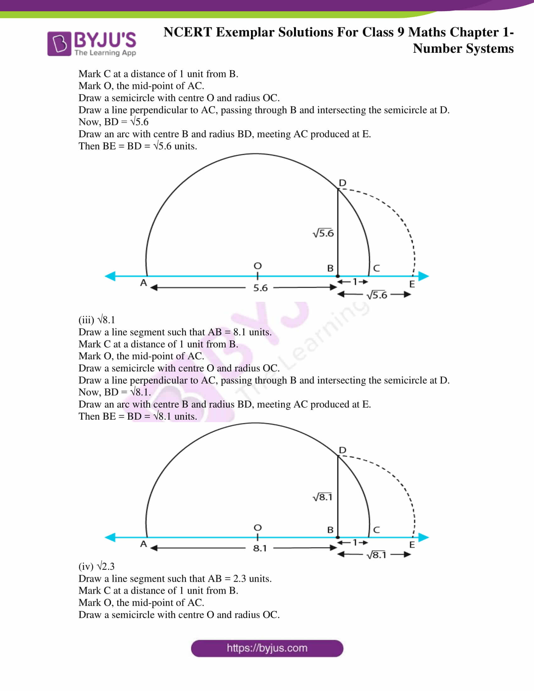 NCERT Exemplar Solutions for Class 9 Maths Chapter 1 12