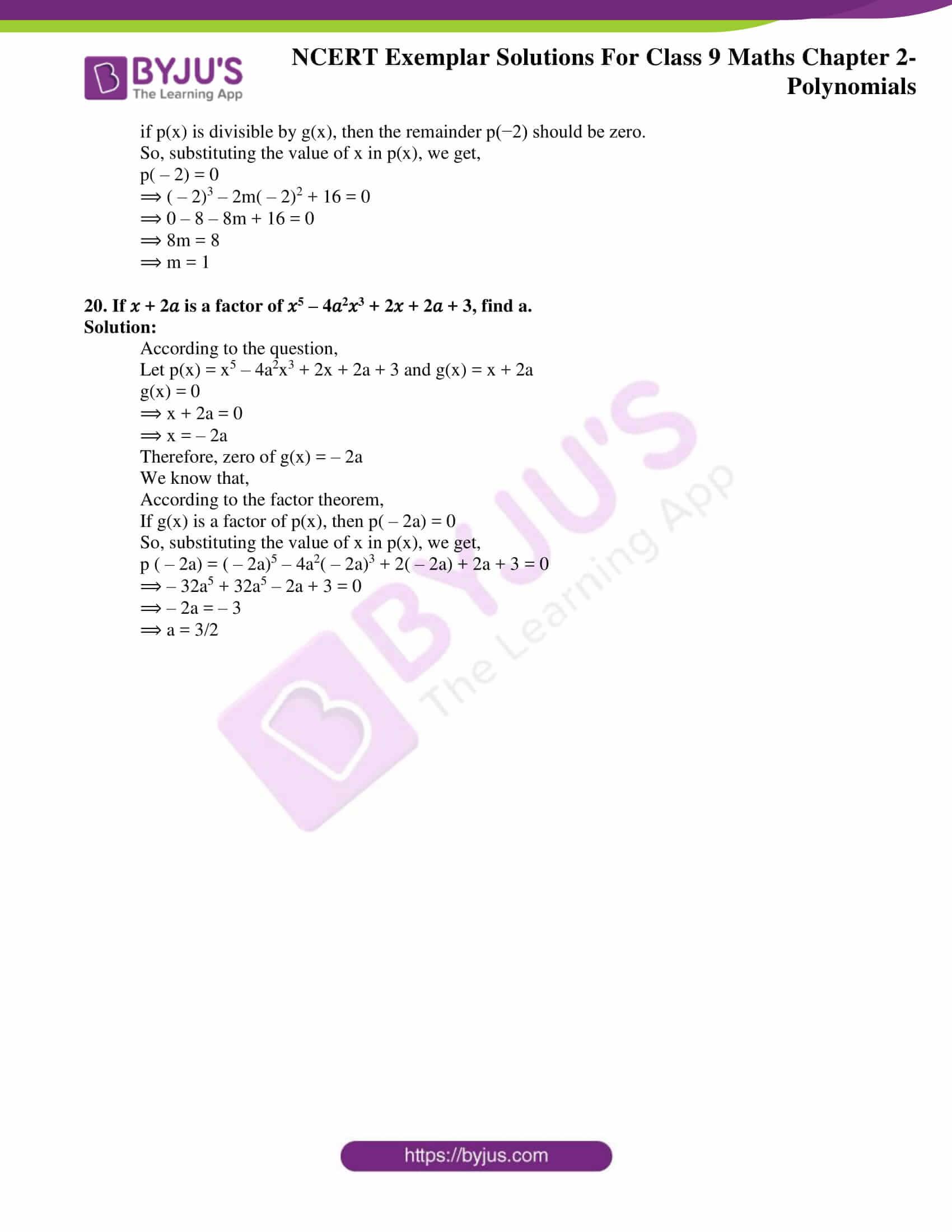NCERT Exemplar Solutions for Class 9 Maths Chapter 2 21