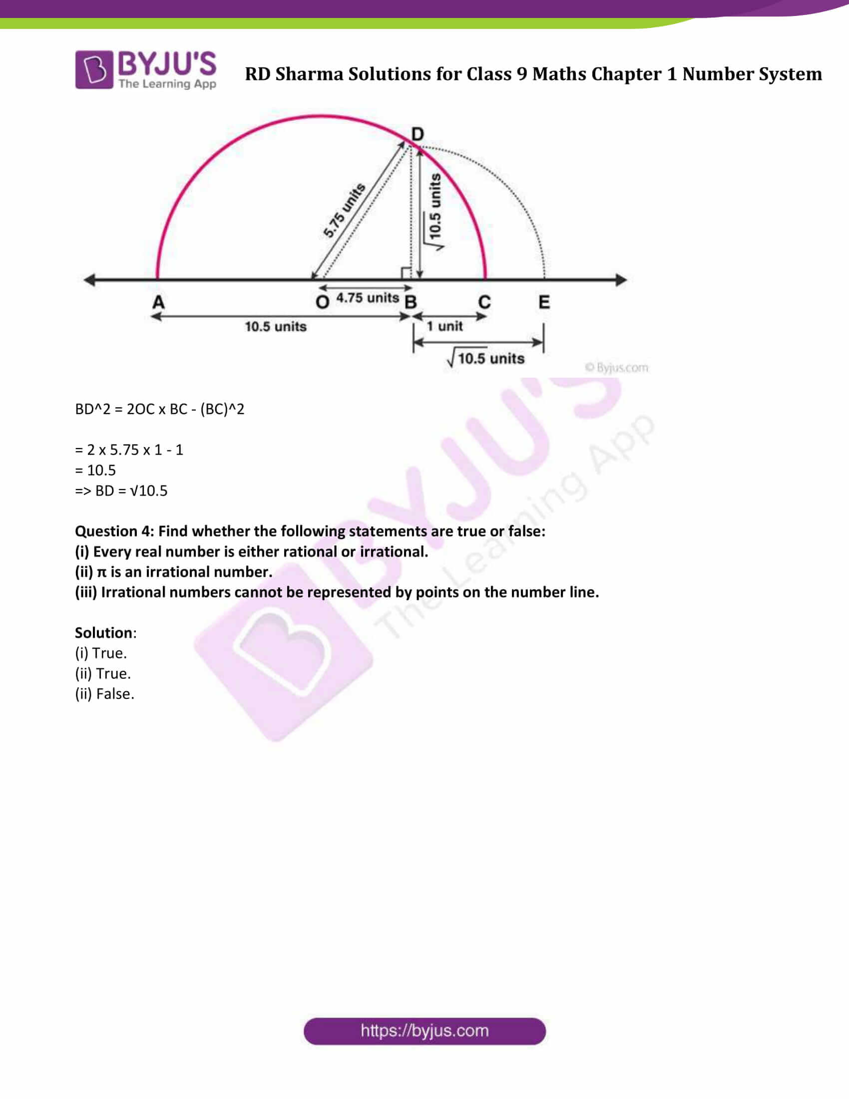 RD Sharma Solution class 9 Maths Chapter 1 Number System 23