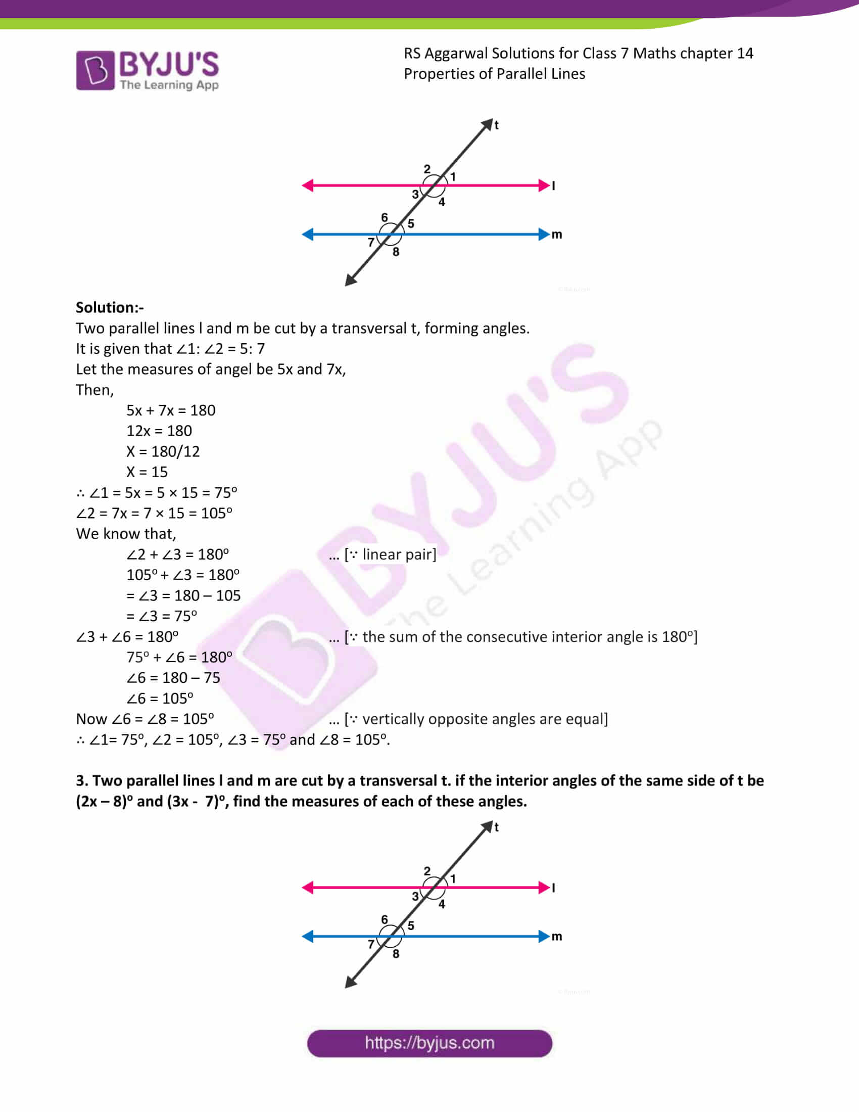 RS Aggarwal Solutions Class 7 Maths Chapter 14 Free Solutions 2