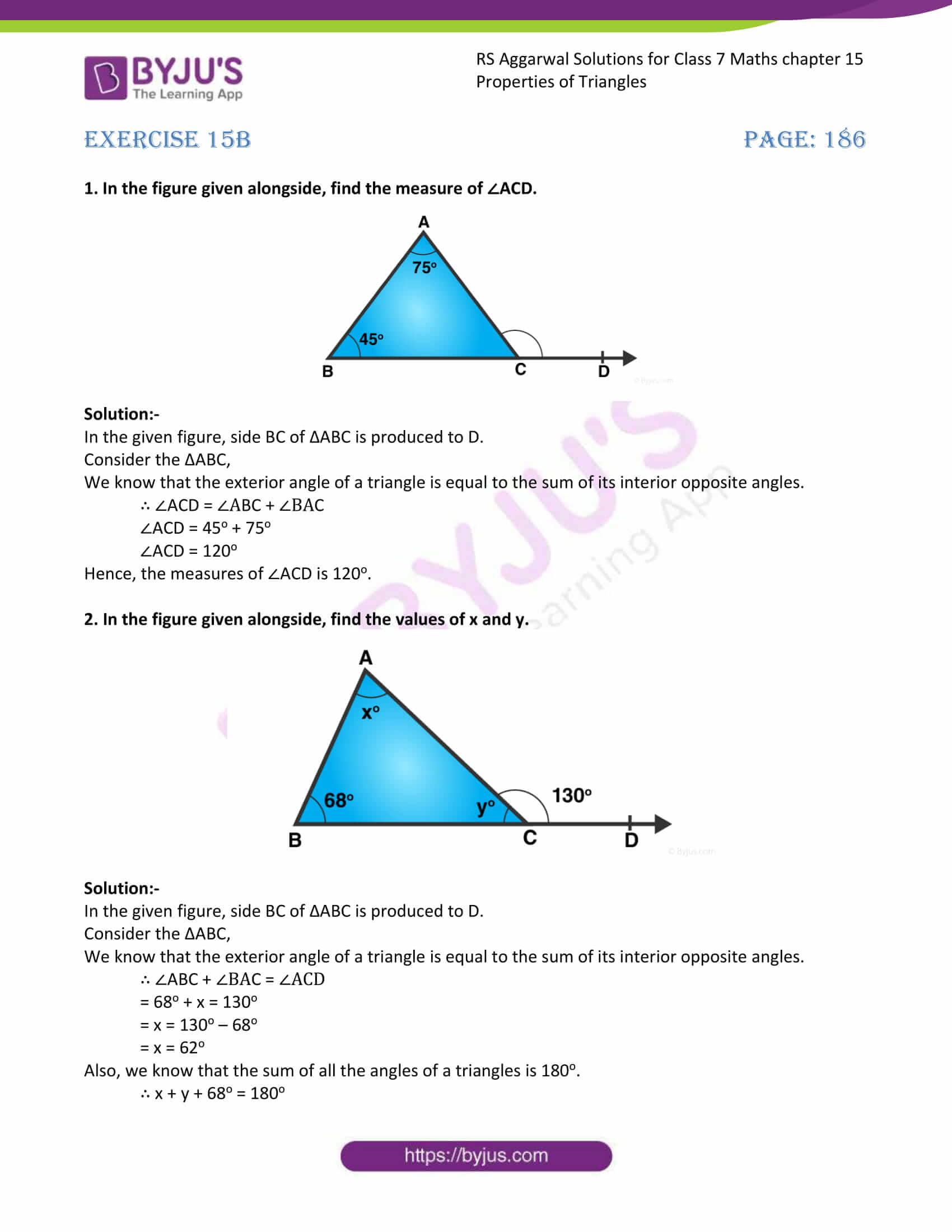 RS Aggarwal Solutions Class 7 Maths Chapter 15 Exercise 15B Free Solutions 04