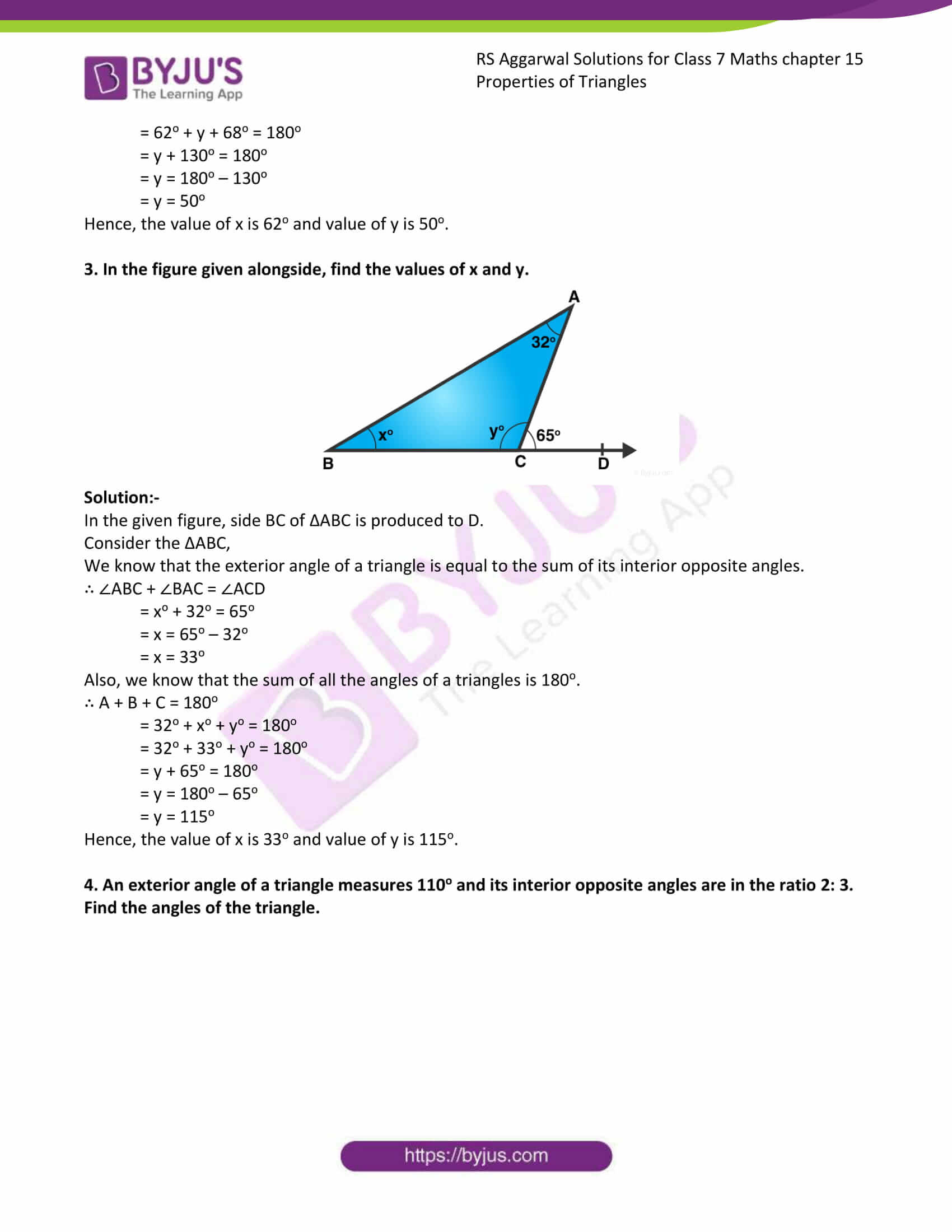 RS Aggarwal Solutions Class 7 Maths Chapter 15 Exercise 15B Free Solutions 05