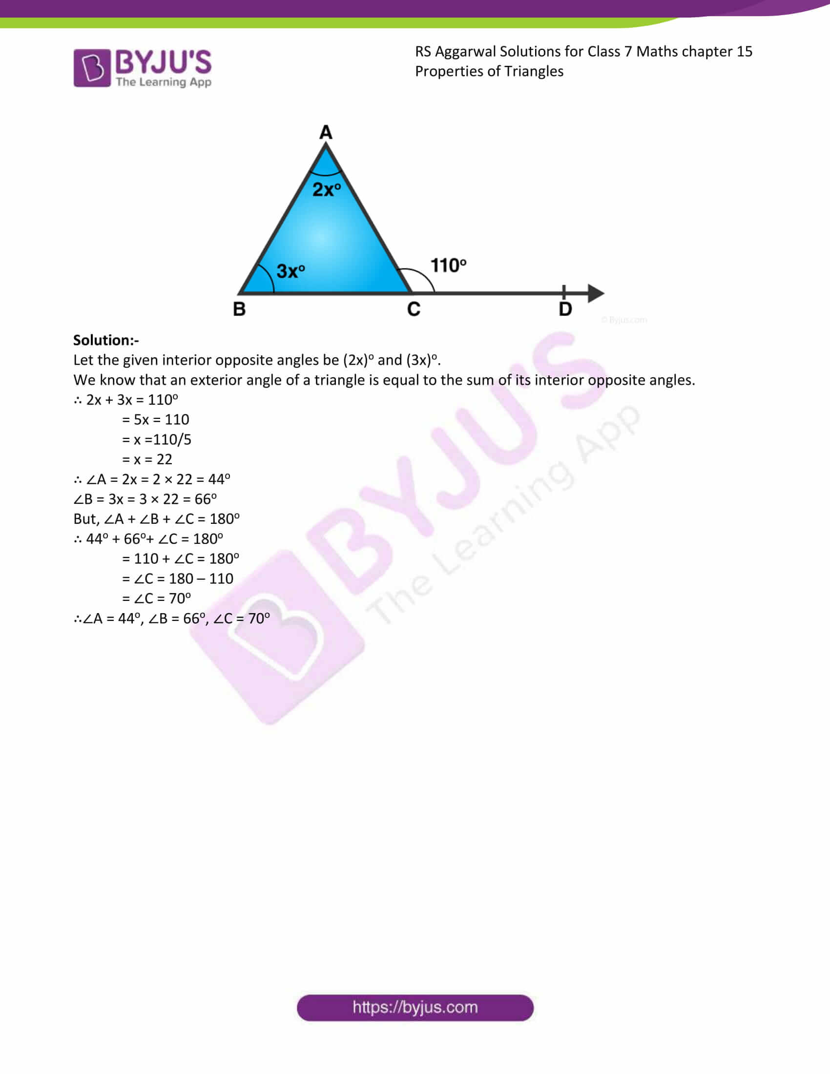 RS Aggarwal Solutions Class 7 Maths Chapter 15 Free Solutions 06
