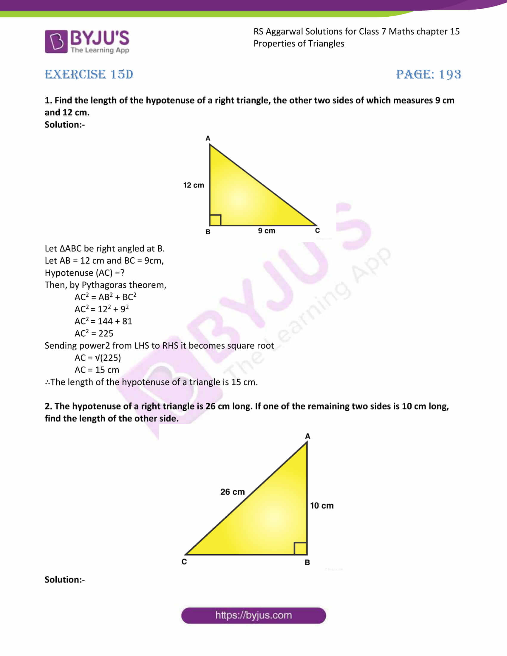 RS Aggarwal Solutions Class 7 Maths Chapter 15 Free Solutions 09