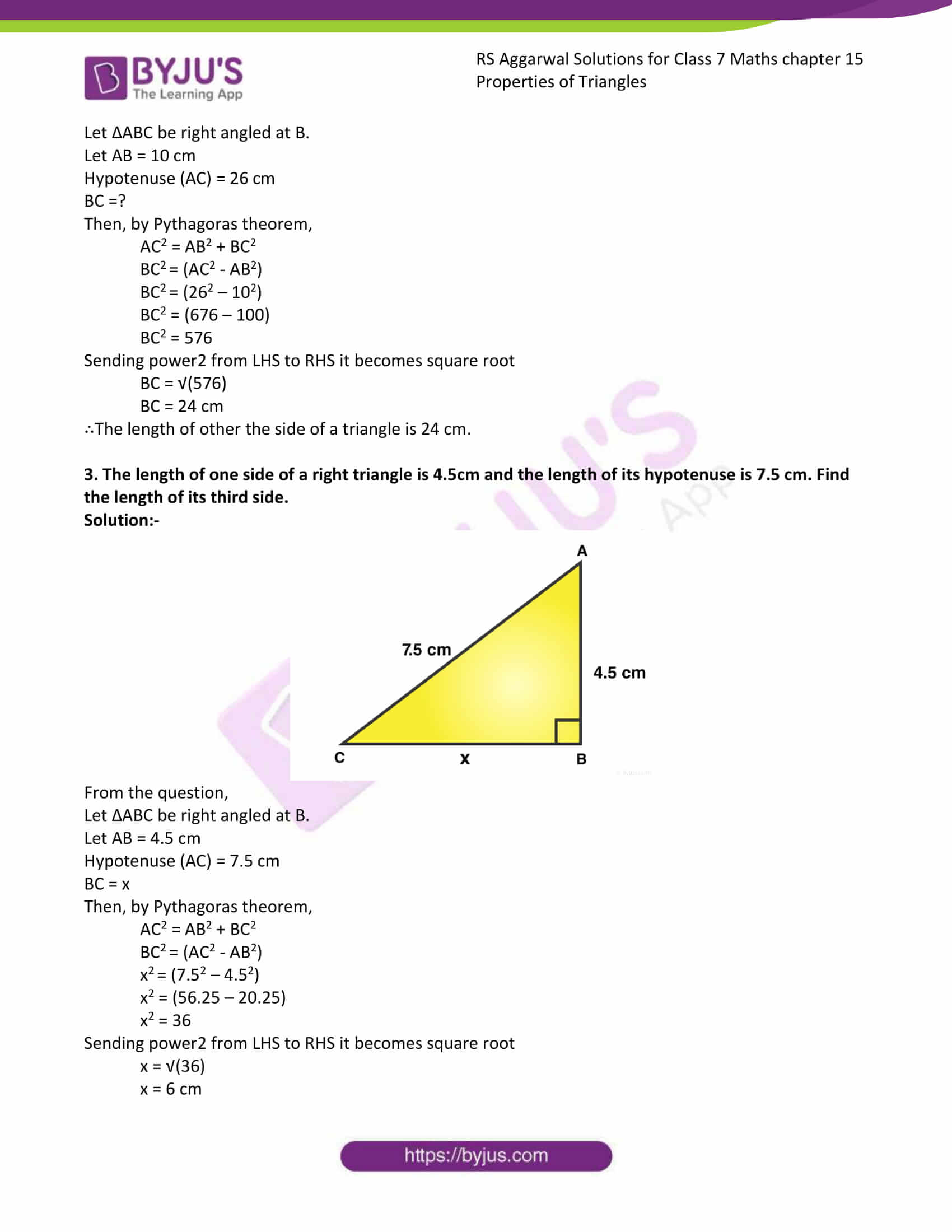 RS Aggarwal Solutions Class 7 Maths Chapter 15 Free Solutions 10