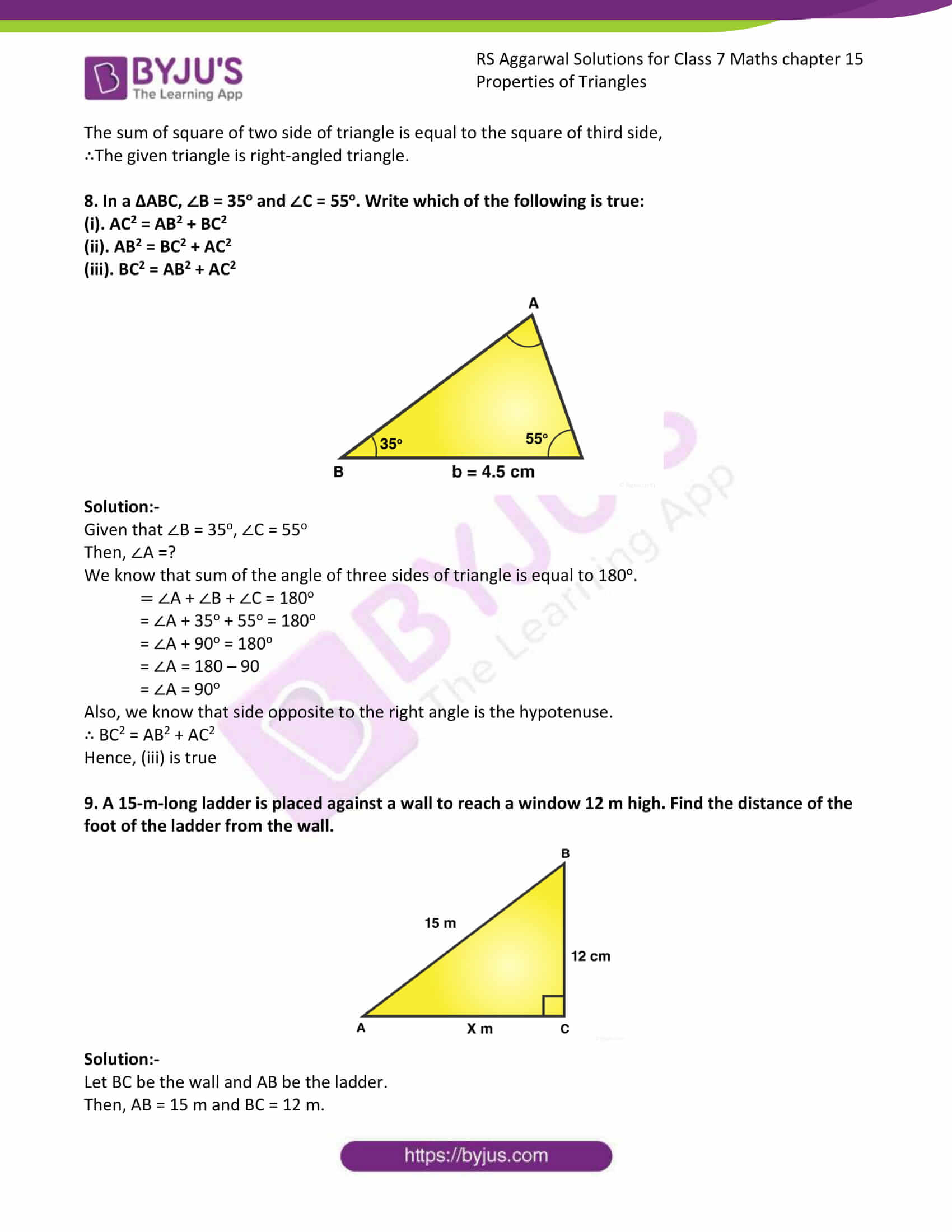 RS Aggarwal Solutions Class 7 Maths Chapter 15 Free Solutions 13