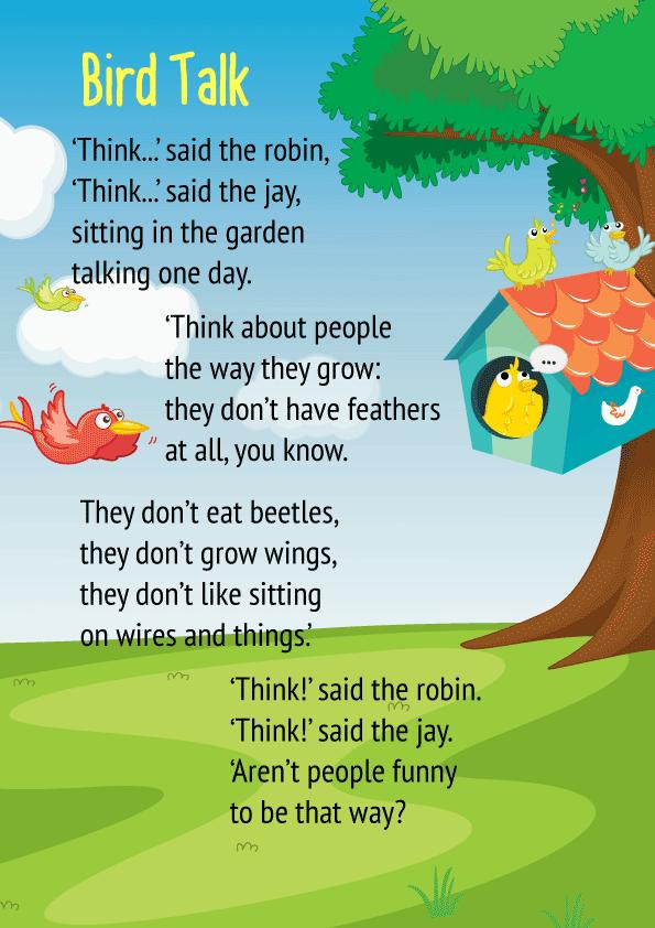 Bird Talk Poem