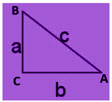 Converse of Pythagoras theorem