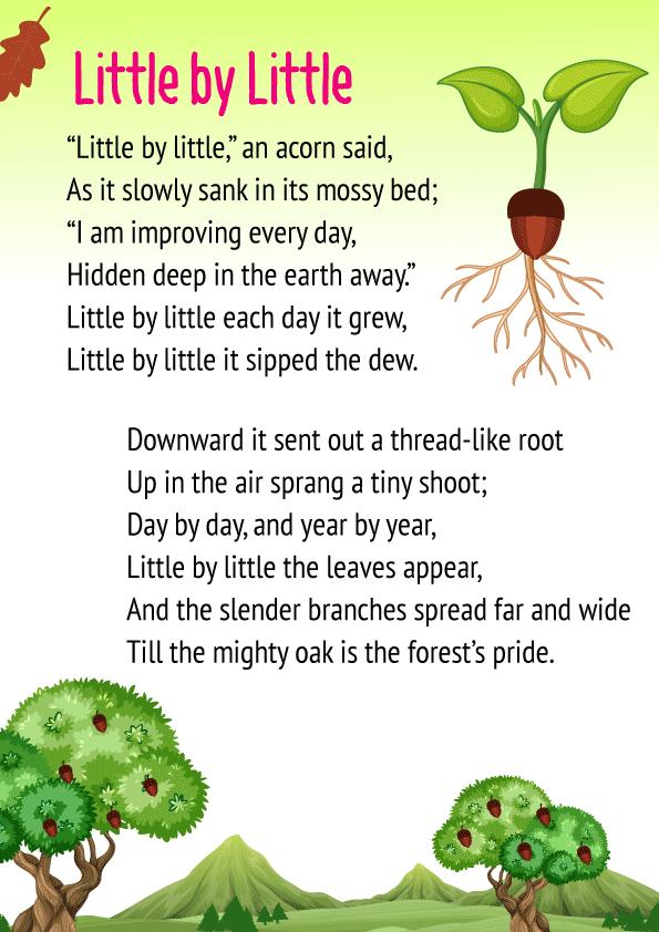 Little by Little Poem