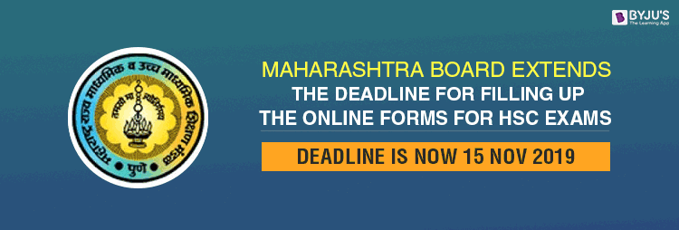 MSBSHSE HSC Exam Online Form Application Deadline Extended