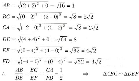 NCERT Exemplar Class 10 Maths Chapter 7 Ex. 7.2 Question 1-1