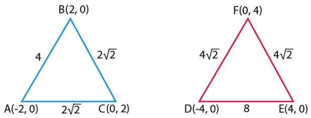 NCERT Exemplar Class 10 Maths Chapter 7 Ex. 7.2 Question 1
