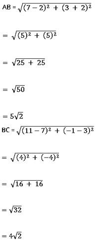 NCERT Exemplar Class 10 Maths Chapter 7 Ex. 7.3 Question 3-1