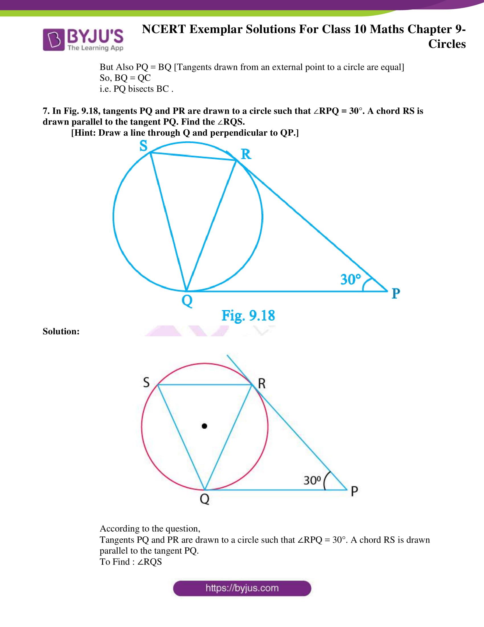 ncert exemplar solution for class 10 maths chapter 9