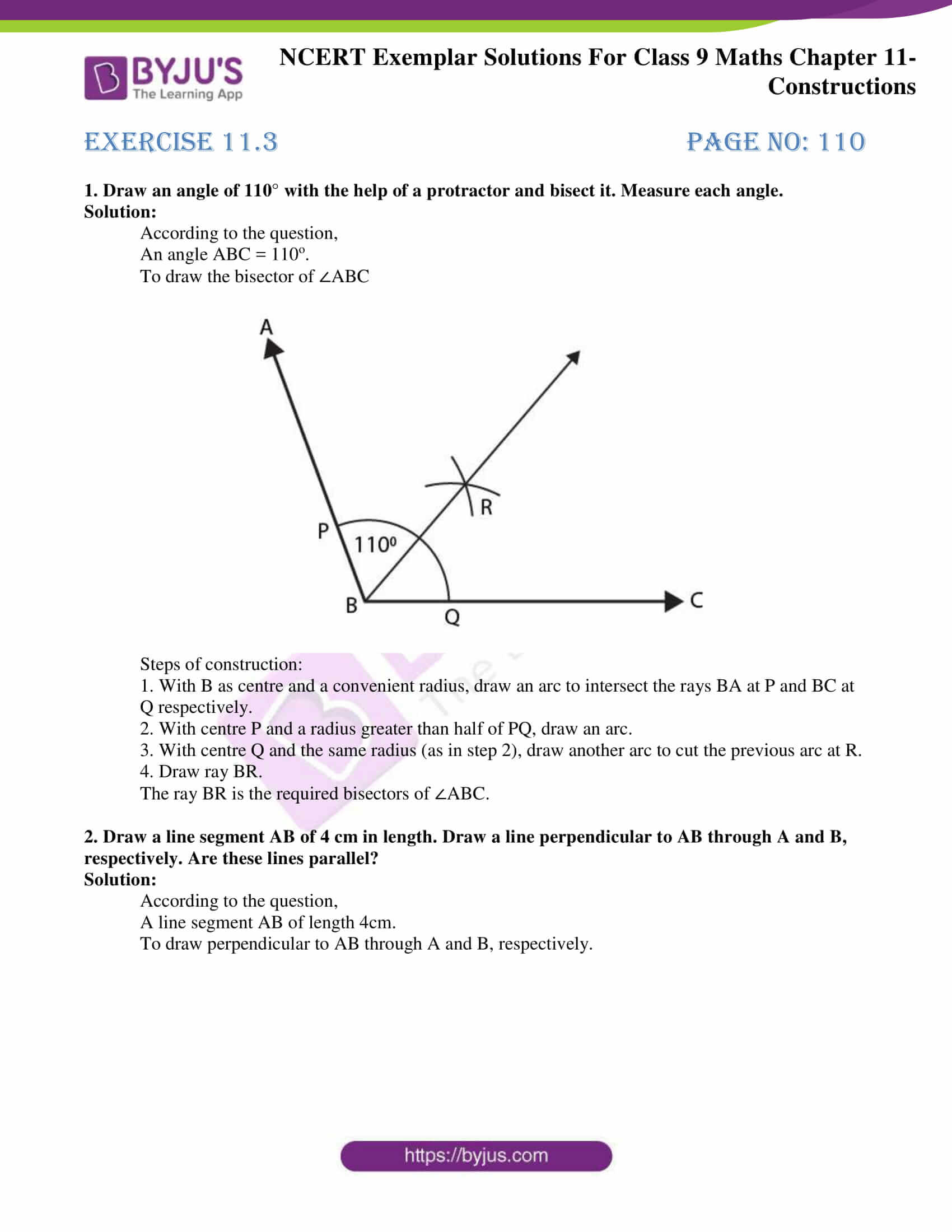 ncert exemplar solution class 9 maths chapter 11