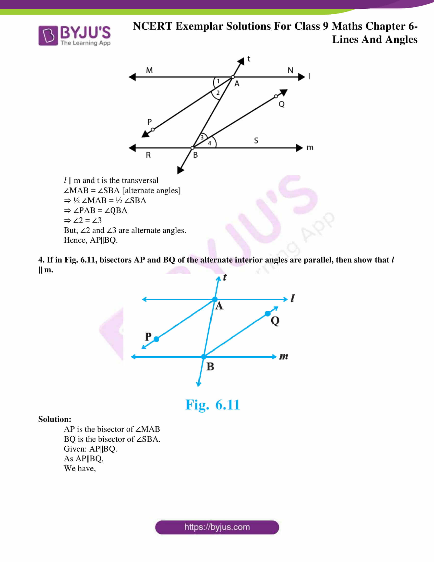 ncert exemplar solution class 9 maths chapter 6