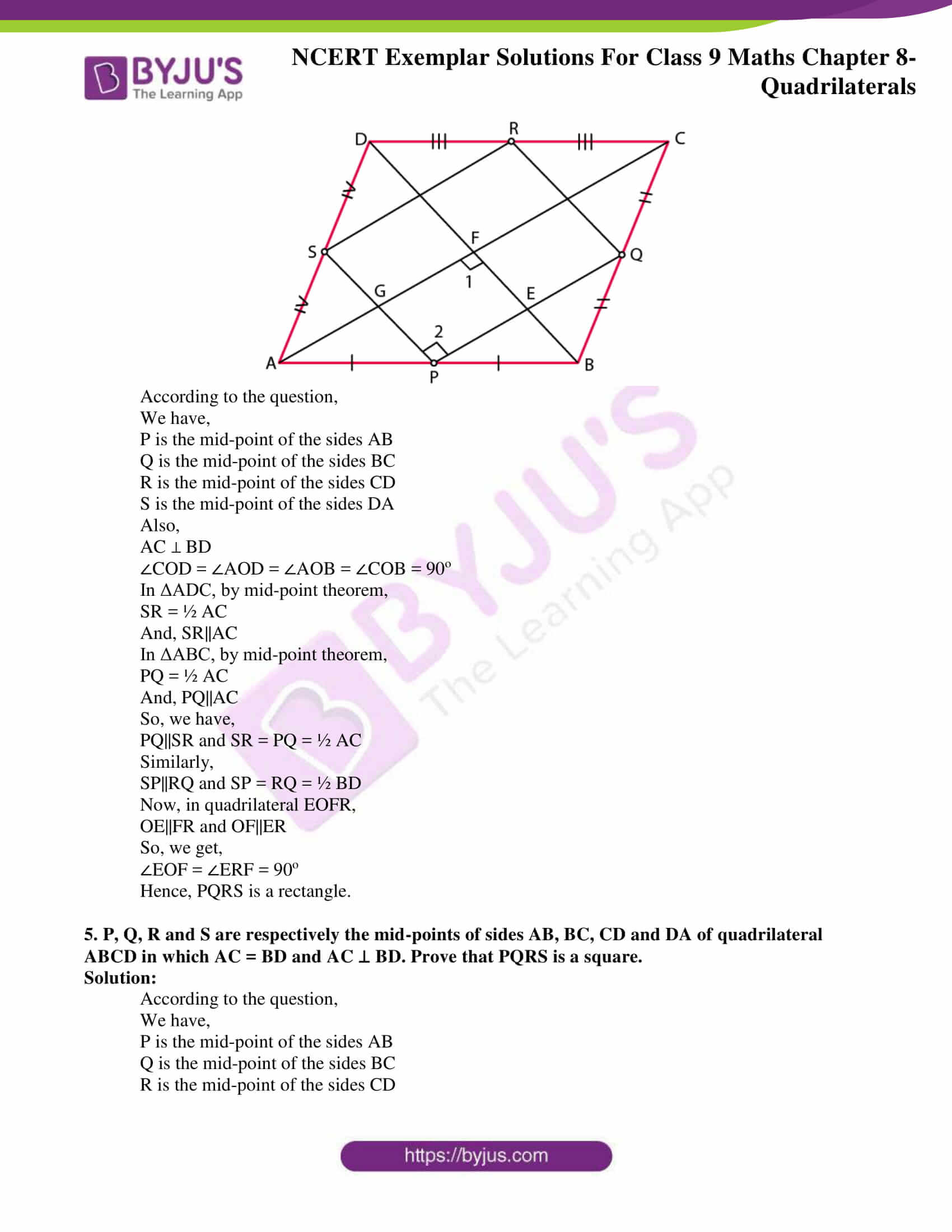 ncert exemplar solution class 9 maths chapter 8
