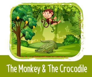 Panchatantra Story - The Monkey & The Crocodile