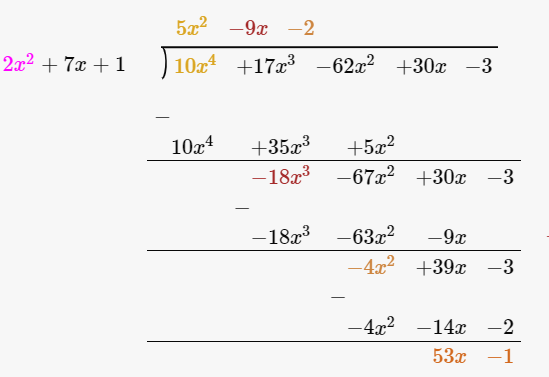 R D Sharma Solutions For Class 10 Maths Chapter 2 Polynomials ex 2.3 - 2